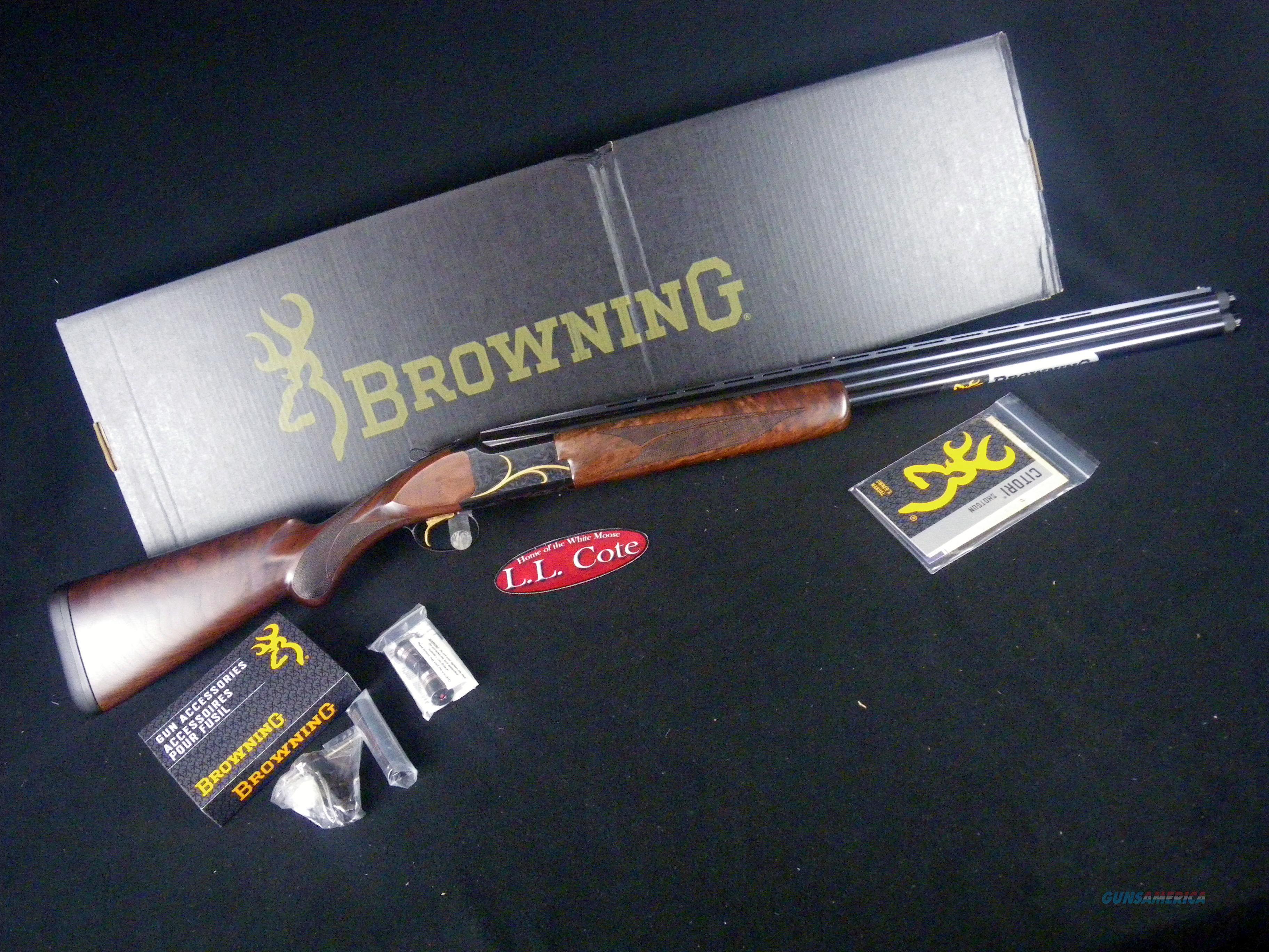 "Browning Citori Gran Lightning 12ga 28"" NEW 3"" 018117304  Guns > Shotguns > Browning Shotguns > Over Unders > Citori > Hunting"