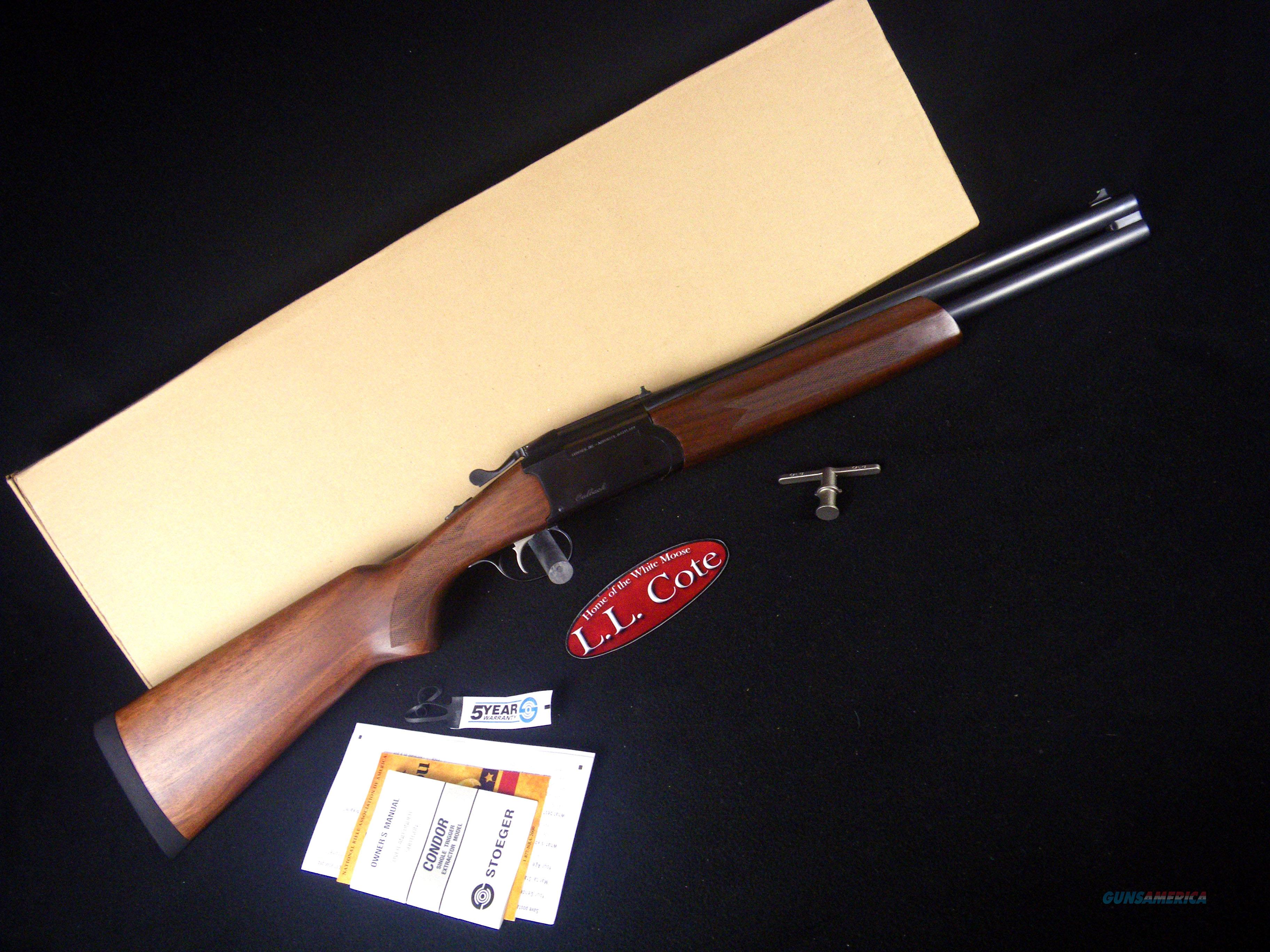 "Stoeger Condor Outback Walnut 12ga 20"" NEW 31082  Guns > Shotguns > Stoeger Shotguns"