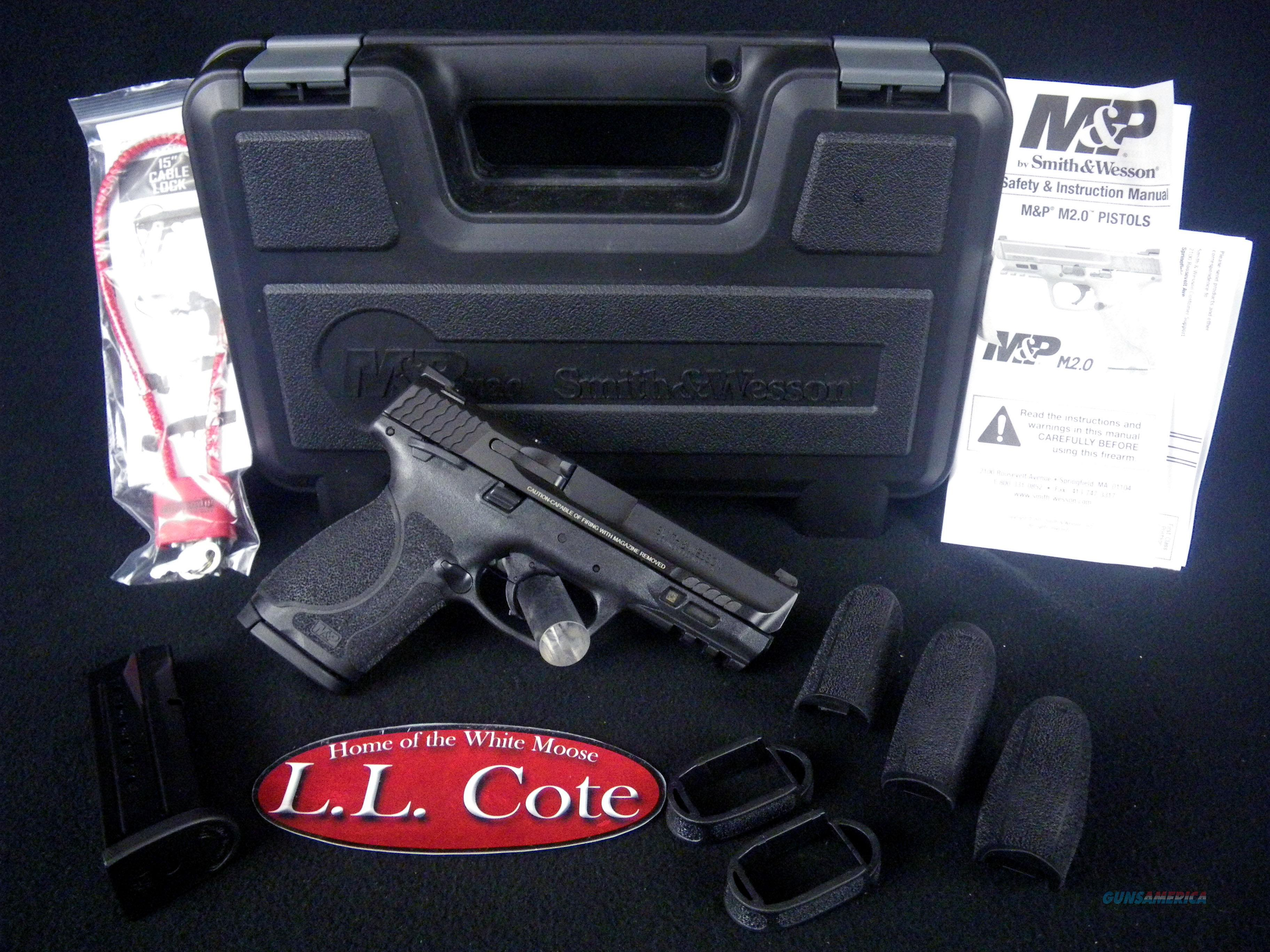 """Smith & Wesson M&P9 M2.0 Compact 9mm 4"""" NEW 11686  Guns > Pistols > Smith & Wesson Pistols - Autos > Steel Frame"""