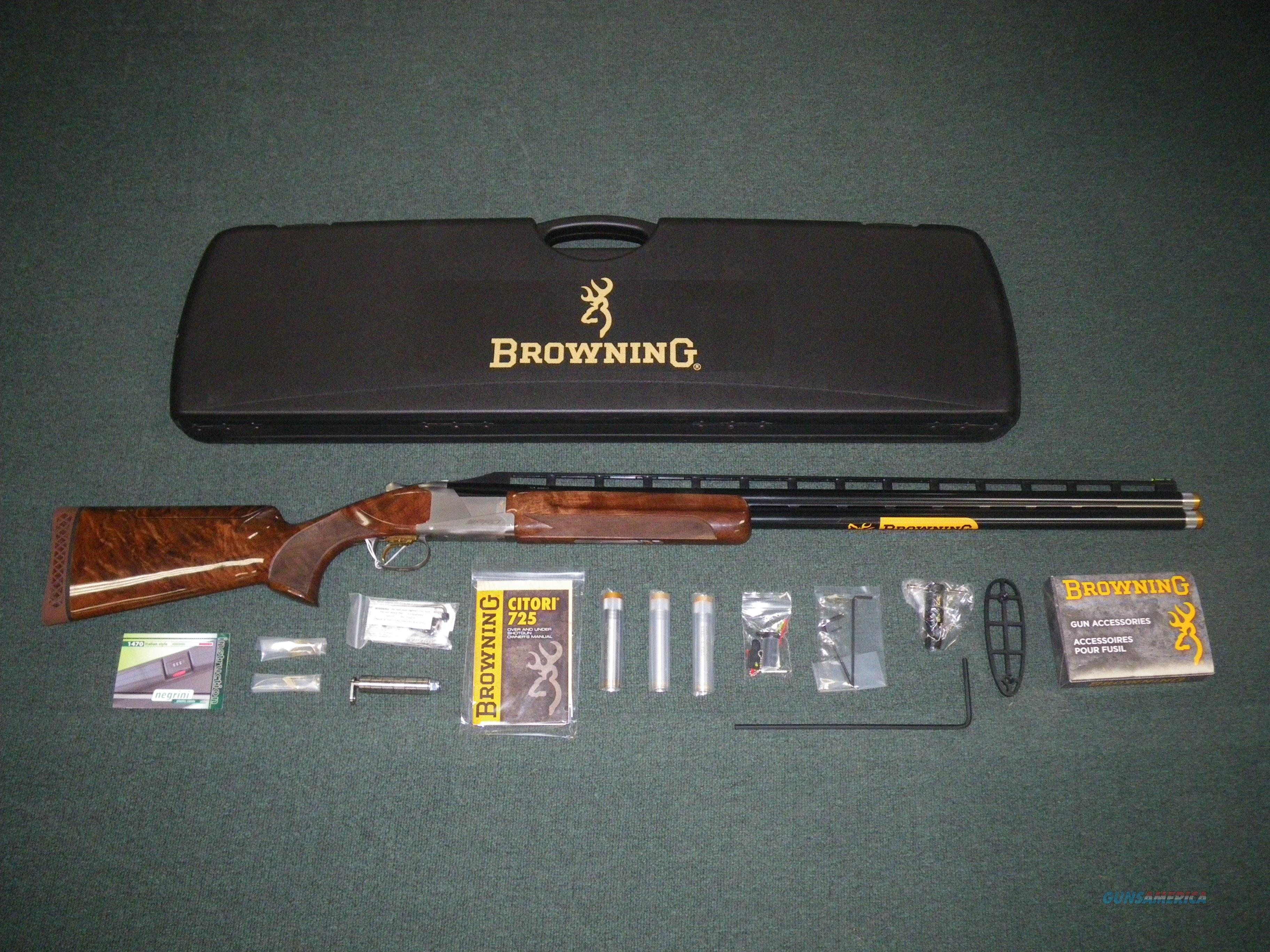"""Browning Citori 725 Pro Trap 12ga 32"""" Adj Comb NIB #0180033009  Guns > Shotguns > Browning Shotguns > Over Unders > Citori > Hunting"""