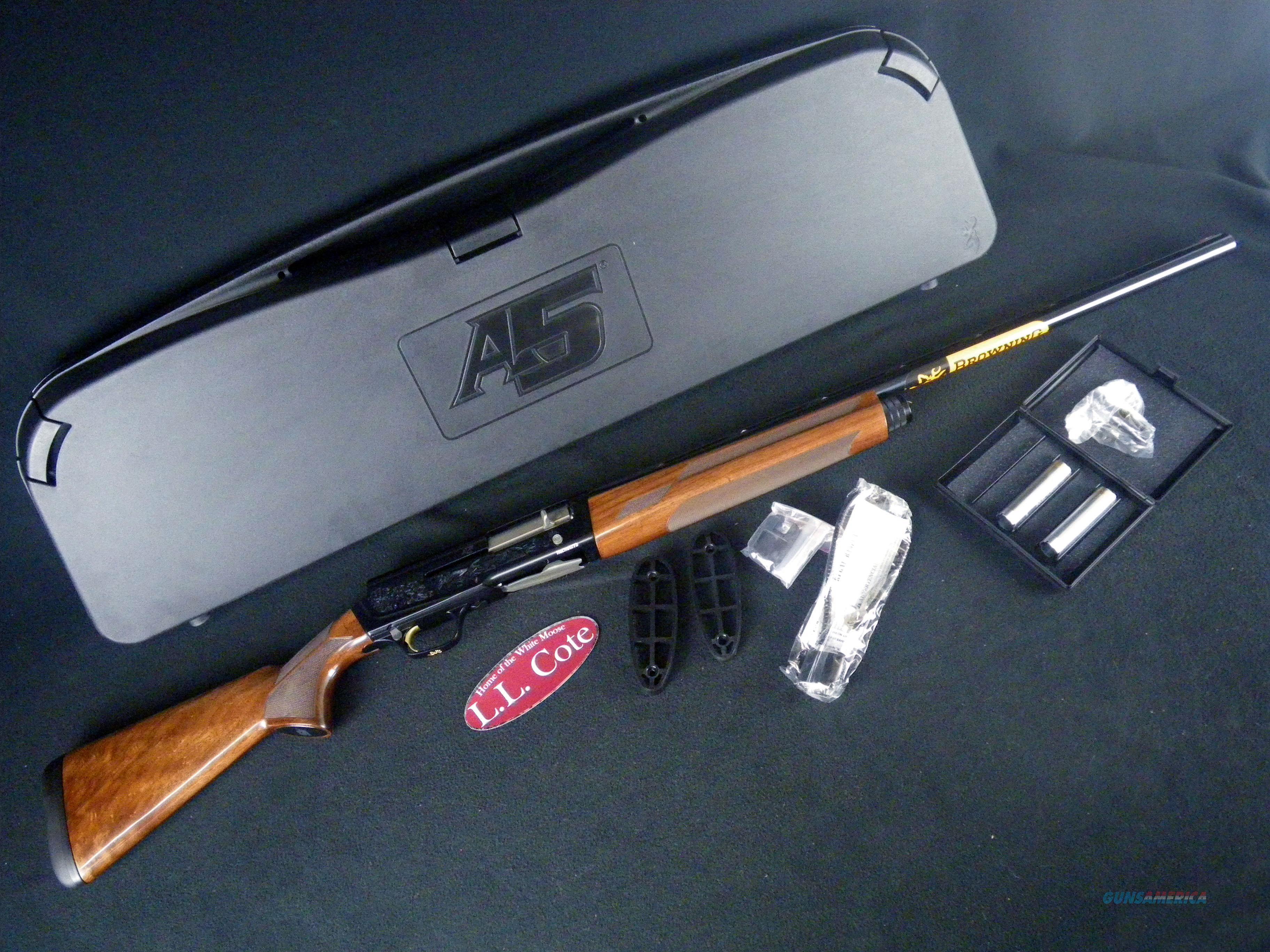 "Browning A5 Hunter High Grade 12ga 26"" NEW 3"" 0118403005  Guns > Shotguns > Browning Shotguns > Autoloaders > Hunting"