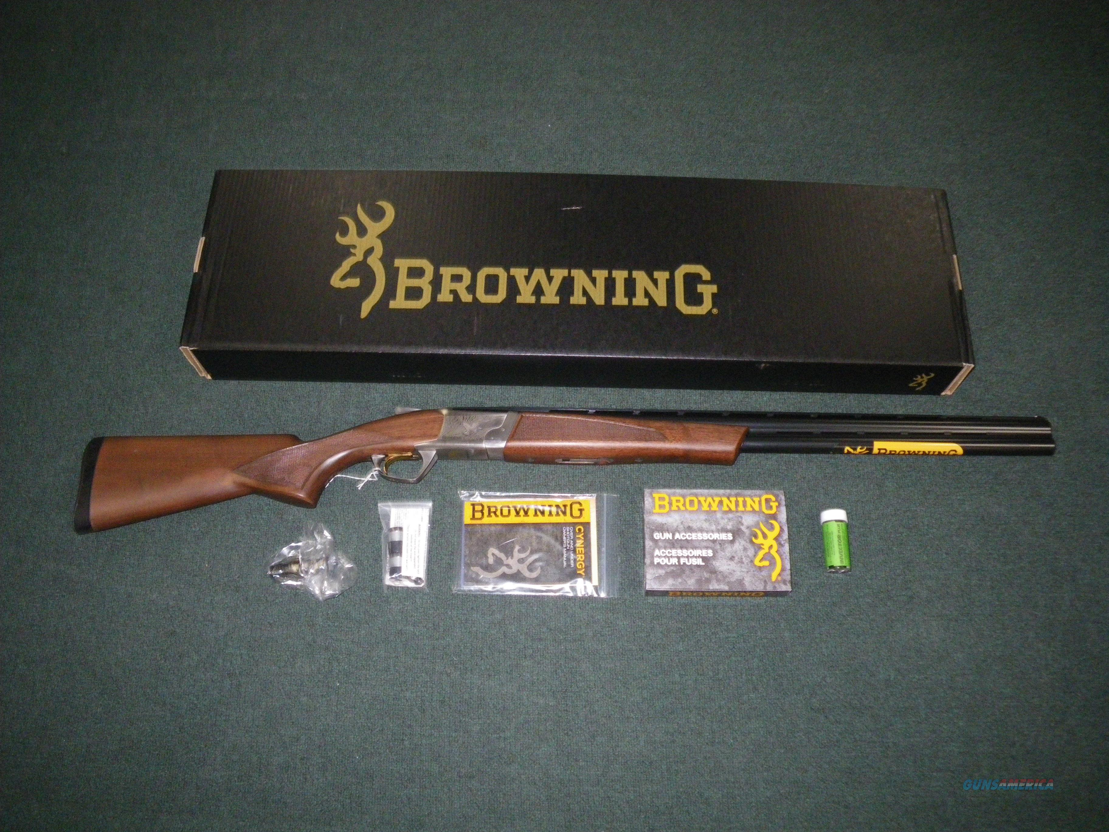 "Browning Cynergy Feather 12ga 28"" NEW 018703304  Guns > Shotguns > Browning Shotguns > Over Unders > Cynergy > Hunting"