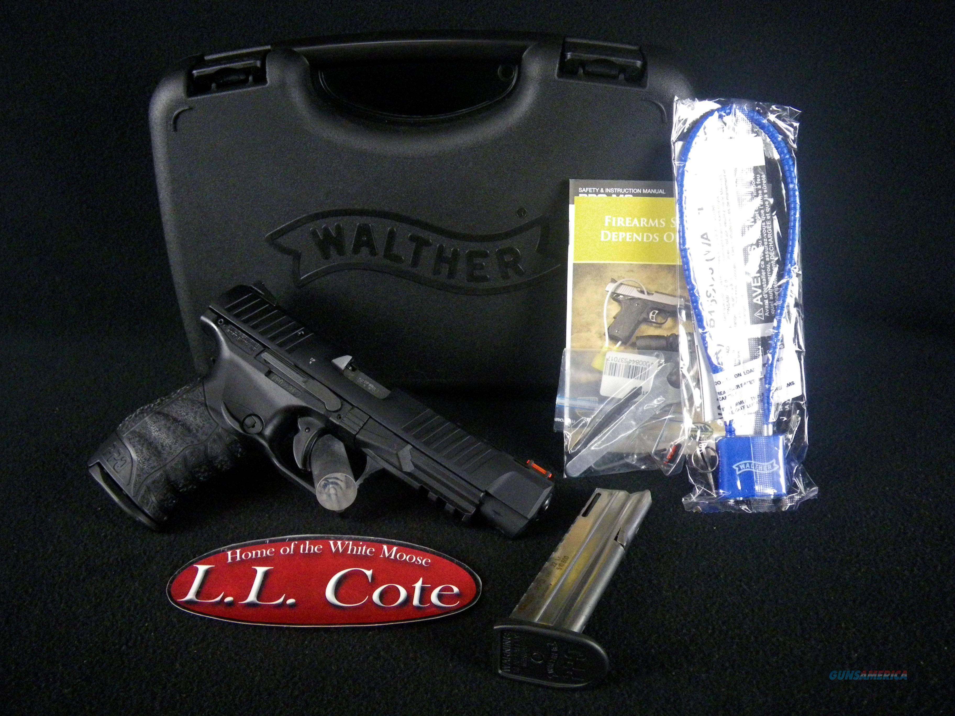 "Walther PPQ M2 Black 22lr 5"" 12 Round NEW 5100302  Guns > Pistols > Walther Pistols > Post WWII > P99/PPQ"