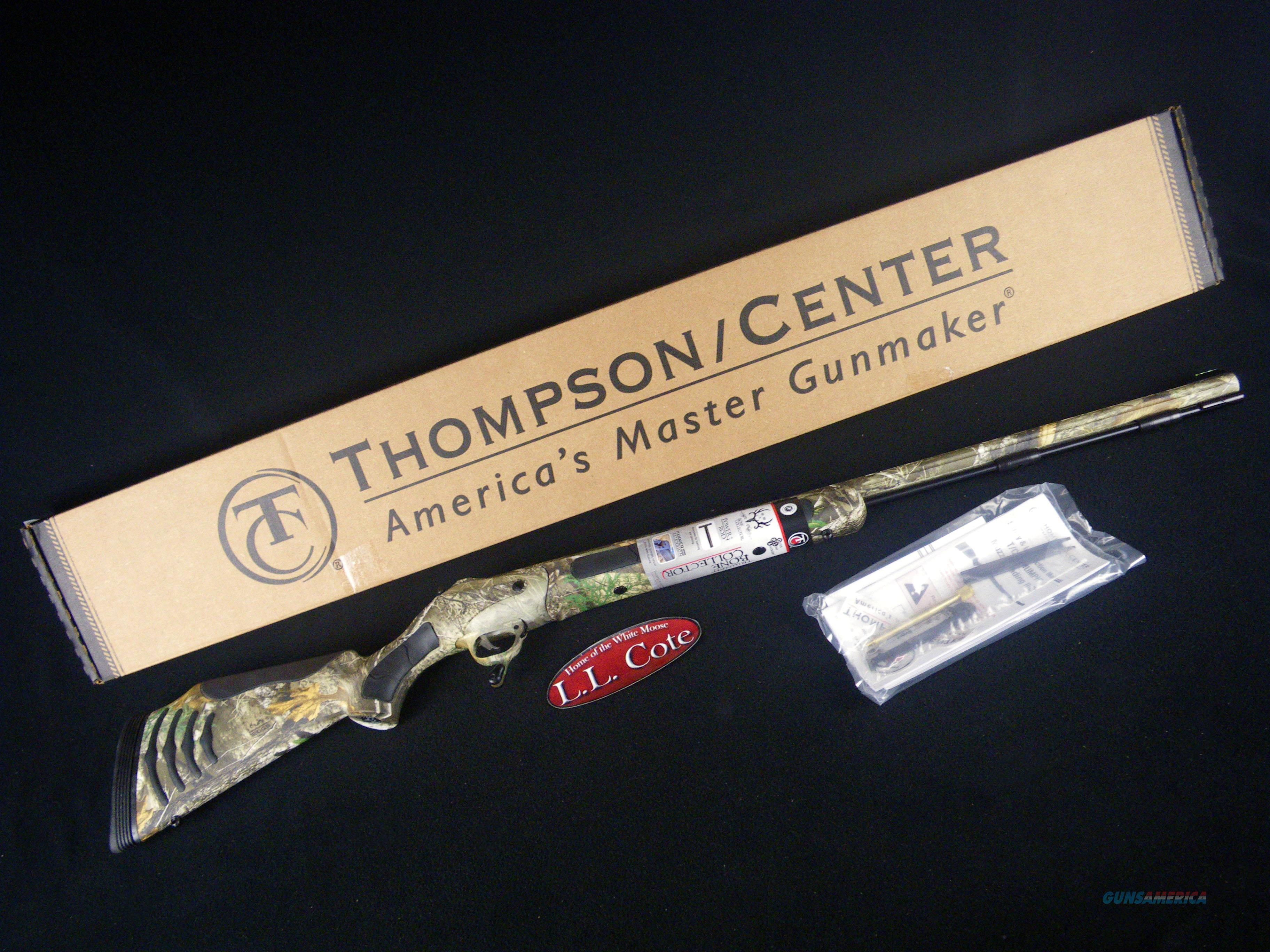 "Thompson Center Triumph Bone Collector 50cal 28"" NEW 12274  Guns > Rifles > Thompson Center Muzzleloaders > Inline Style"