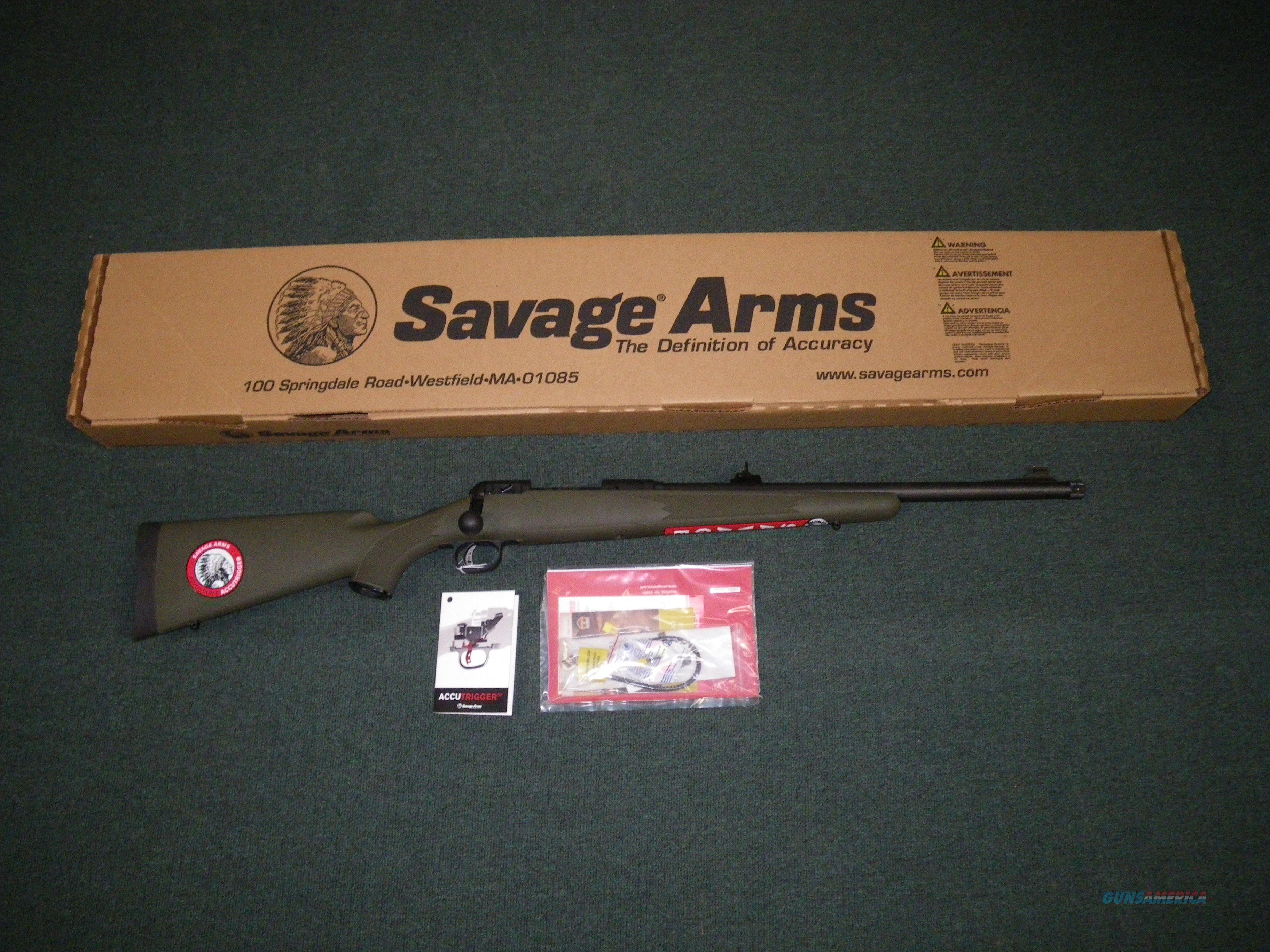 "Savage 11/111 Hog Hunter 308 Win 20"" Threaded NEW! #19662  Guns > Rifles > Savage Rifles > 11/111"