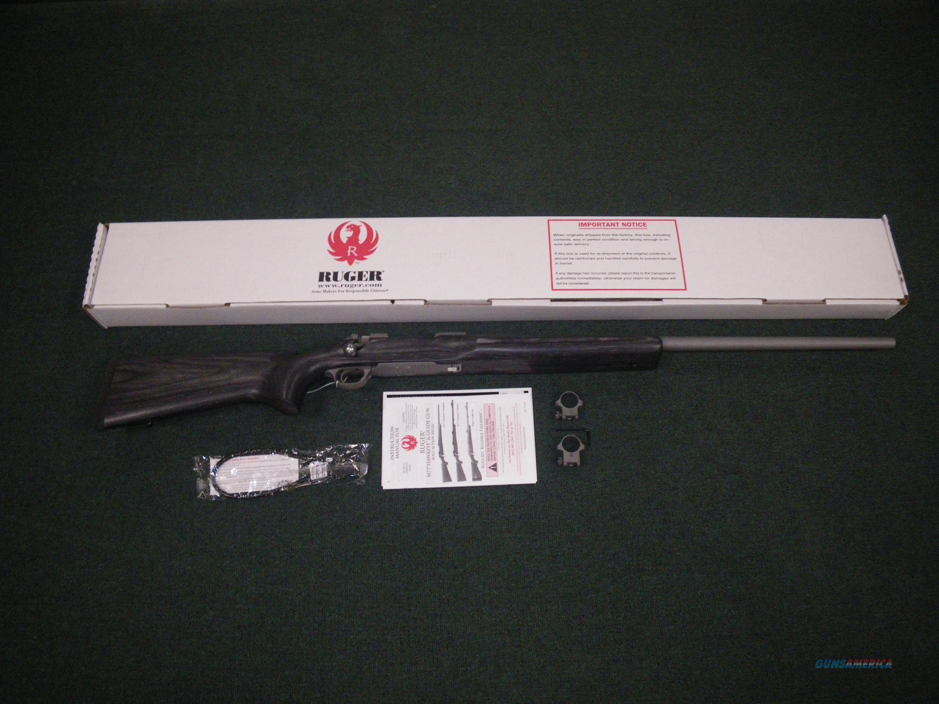 "Ruger Hawkeye Varmint Target Rifle 6.5 Creed 28"" NEW #17980  Guns > Rifles > Ruger Rifles > Model 77"