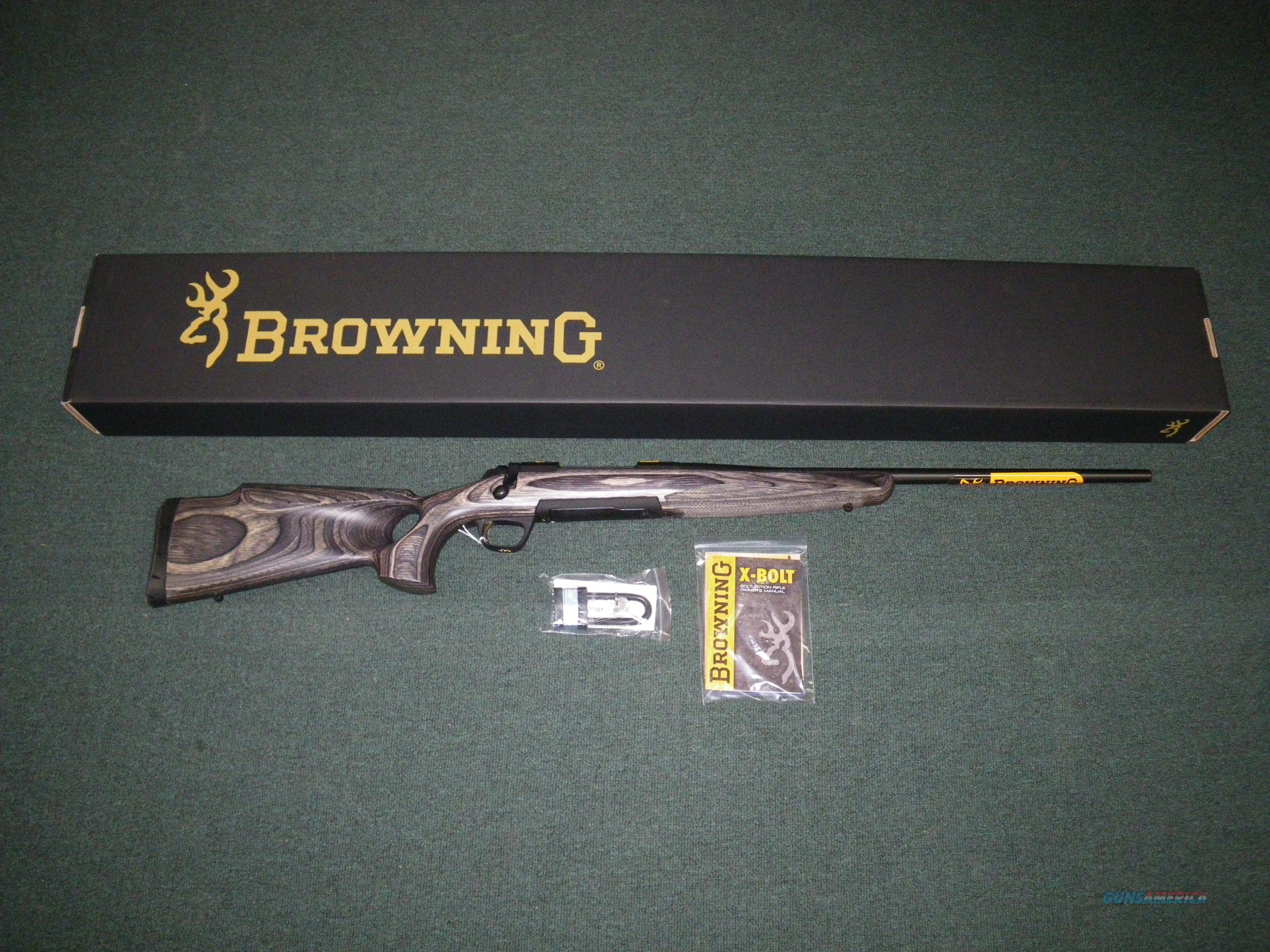 "Browning X-Bolt Eclipse Hunter 270 WSM 23"" NIB Item #035299248  Guns > Rifles > Browning Rifles > Bolt Action > Hunting > Blue"