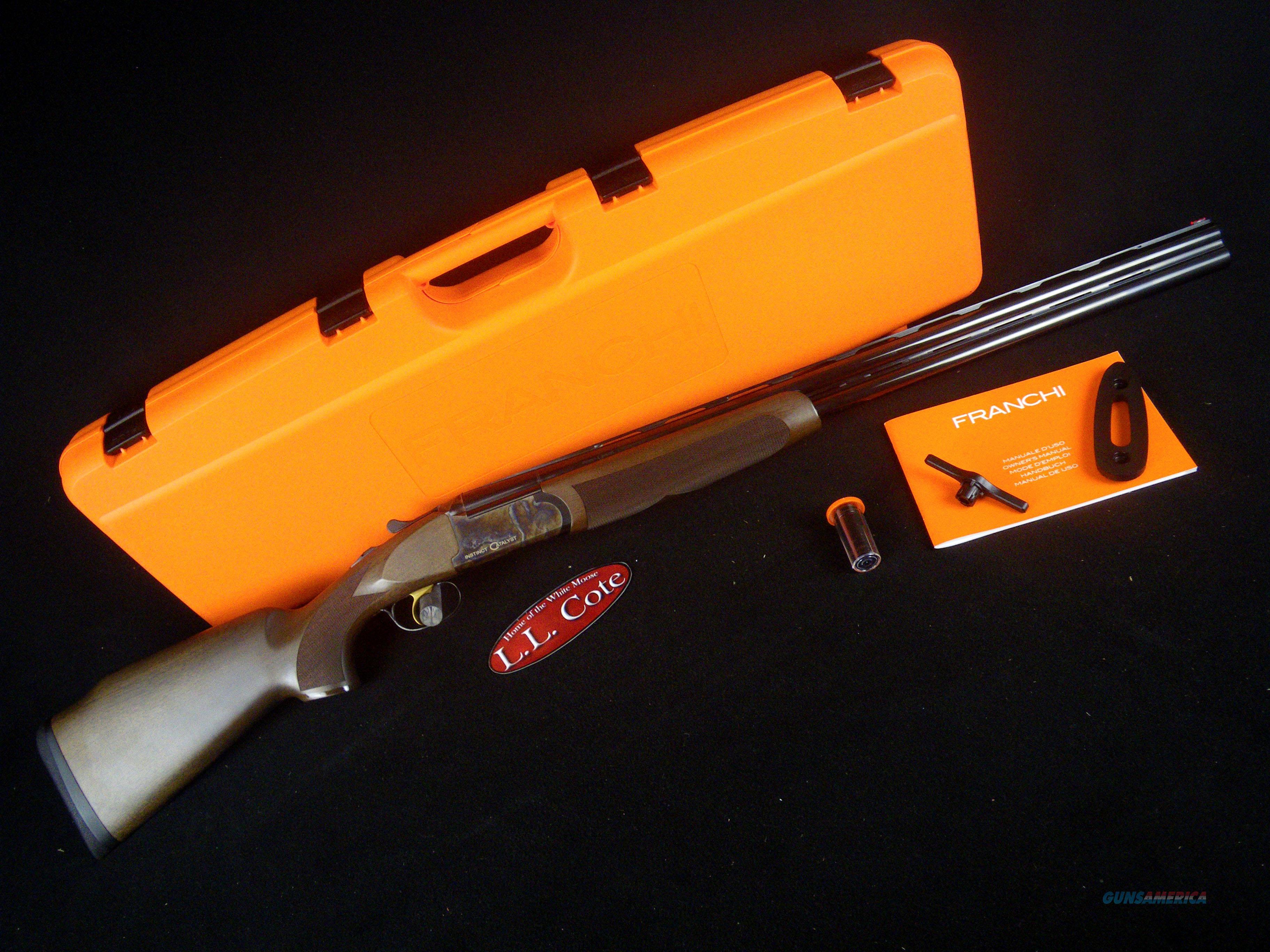 "Franchi Instinct Catalyst 12ga 28"" NEW 3"" 40802  Guns > Shotguns > Franchi Shotguns > Over/Under > Hunting"