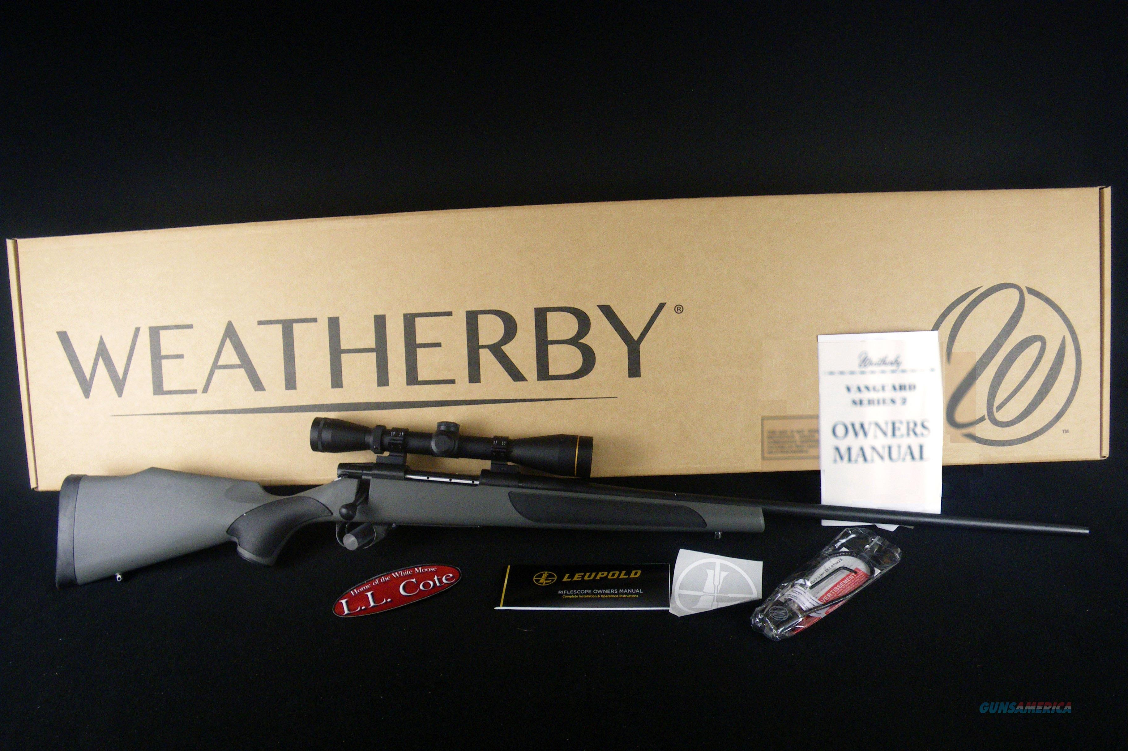 "Weatherby Vanguard Leupold 300 Wby Mag 26"" NEW VLP300WR6O  Guns > Rifles > Weatherby Rifles > Sporting"