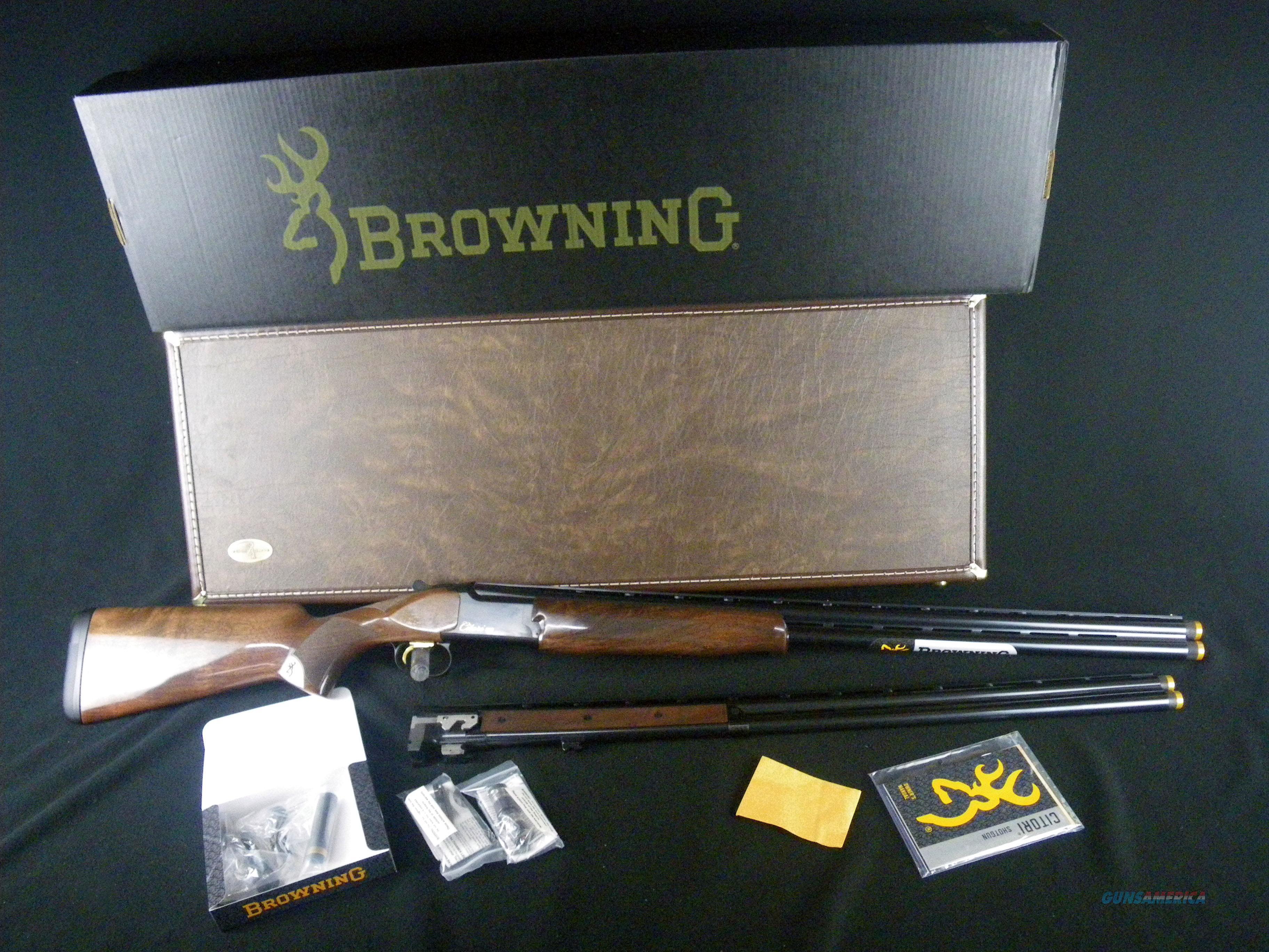 """Browning Citori CXS Combo 12ga/20ga 32"""" NEW 3"""" 018143302  Guns > Shotguns > Browning Shotguns > Over Unders > Citori > Hunting"""
