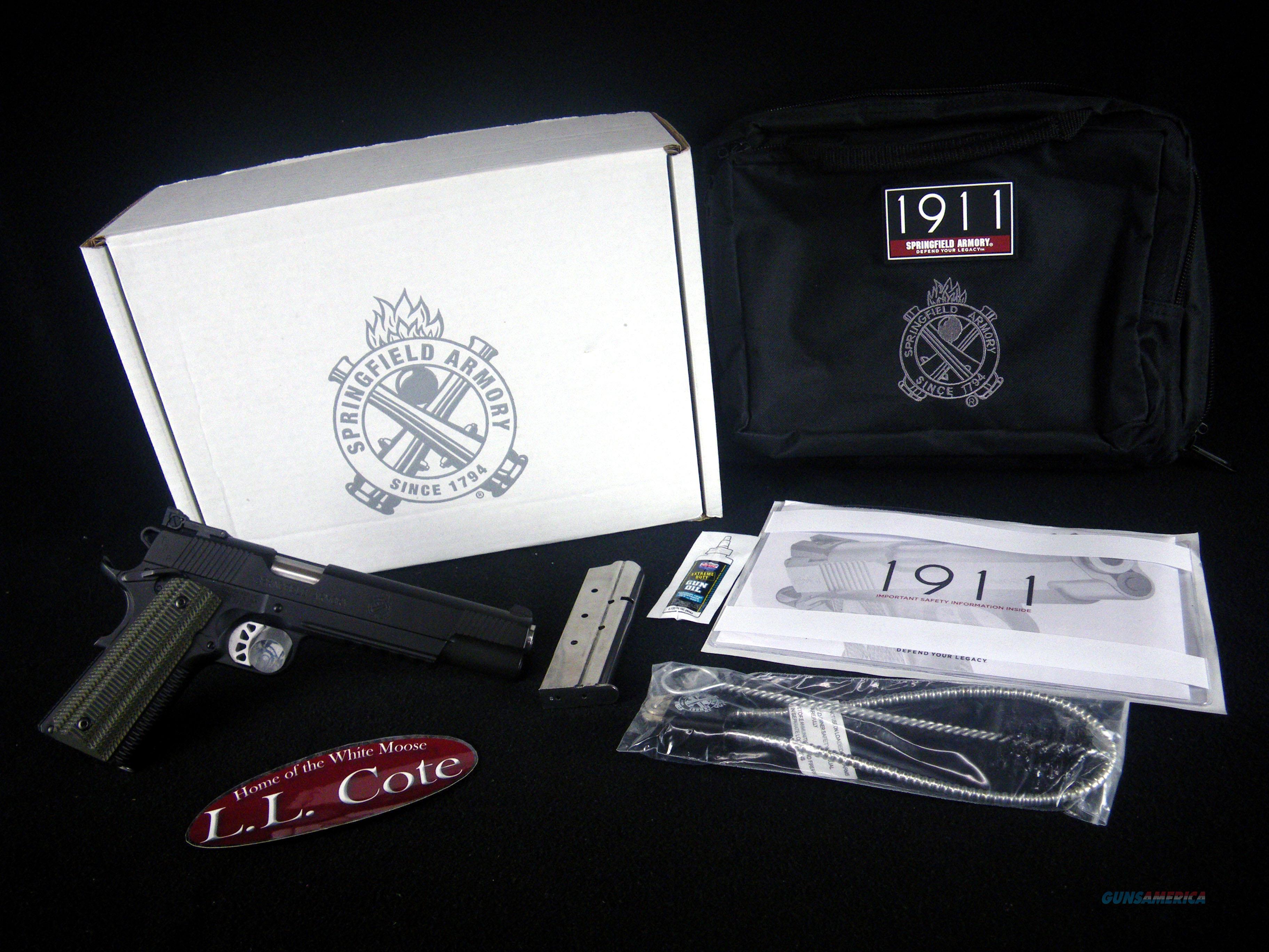 "Springfield 1911 TRP 10mm 6"" Black NEW PC9610L18  Guns > Pistols > Springfield Armory Pistols > 1911 Type"