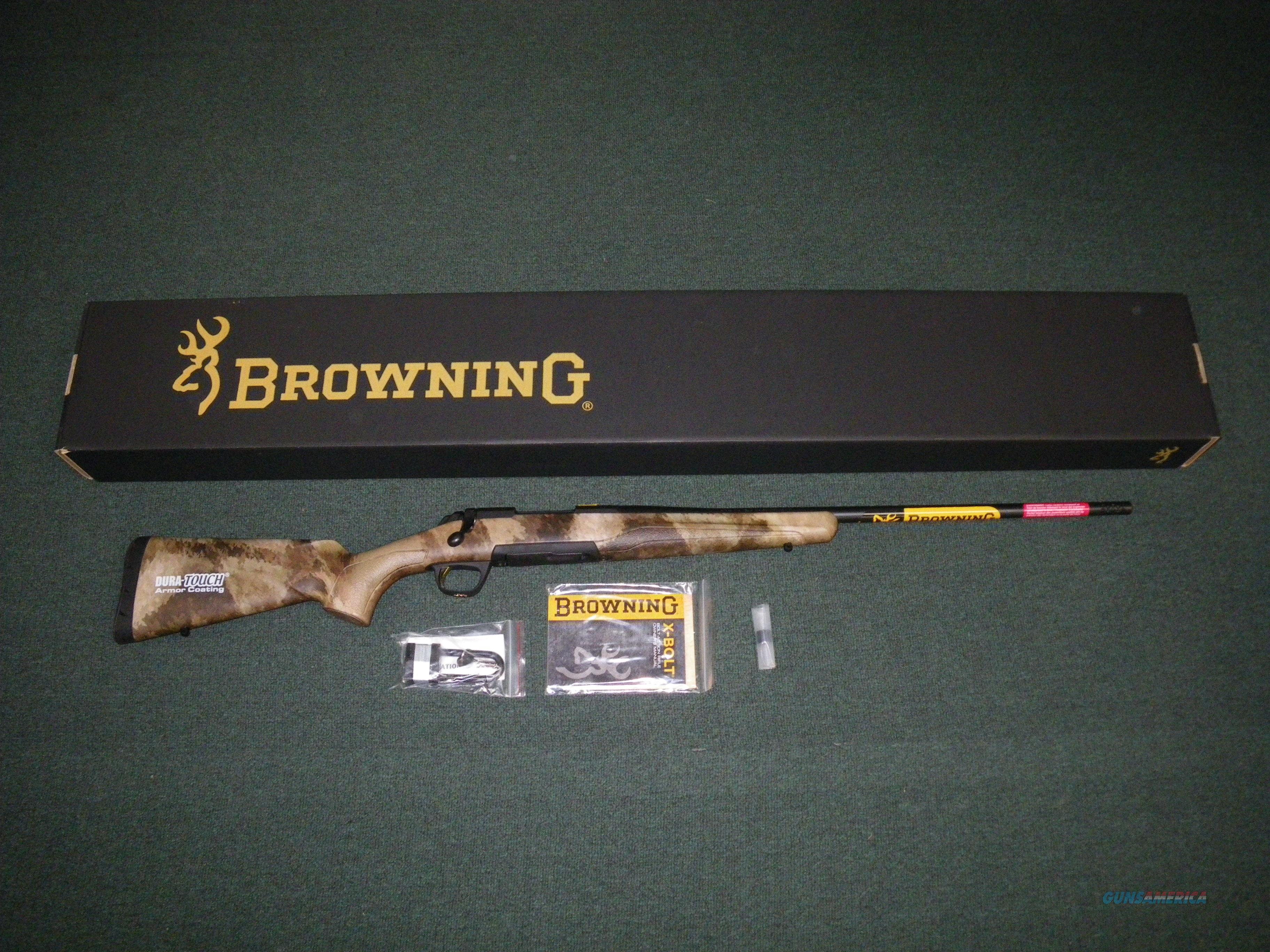 "Browning X-Bolt Western Hunter A-TACS 300 WSM 23"" #035388246  Guns > Rifles > Browning Rifles > Bolt Action > Hunting > Blue"