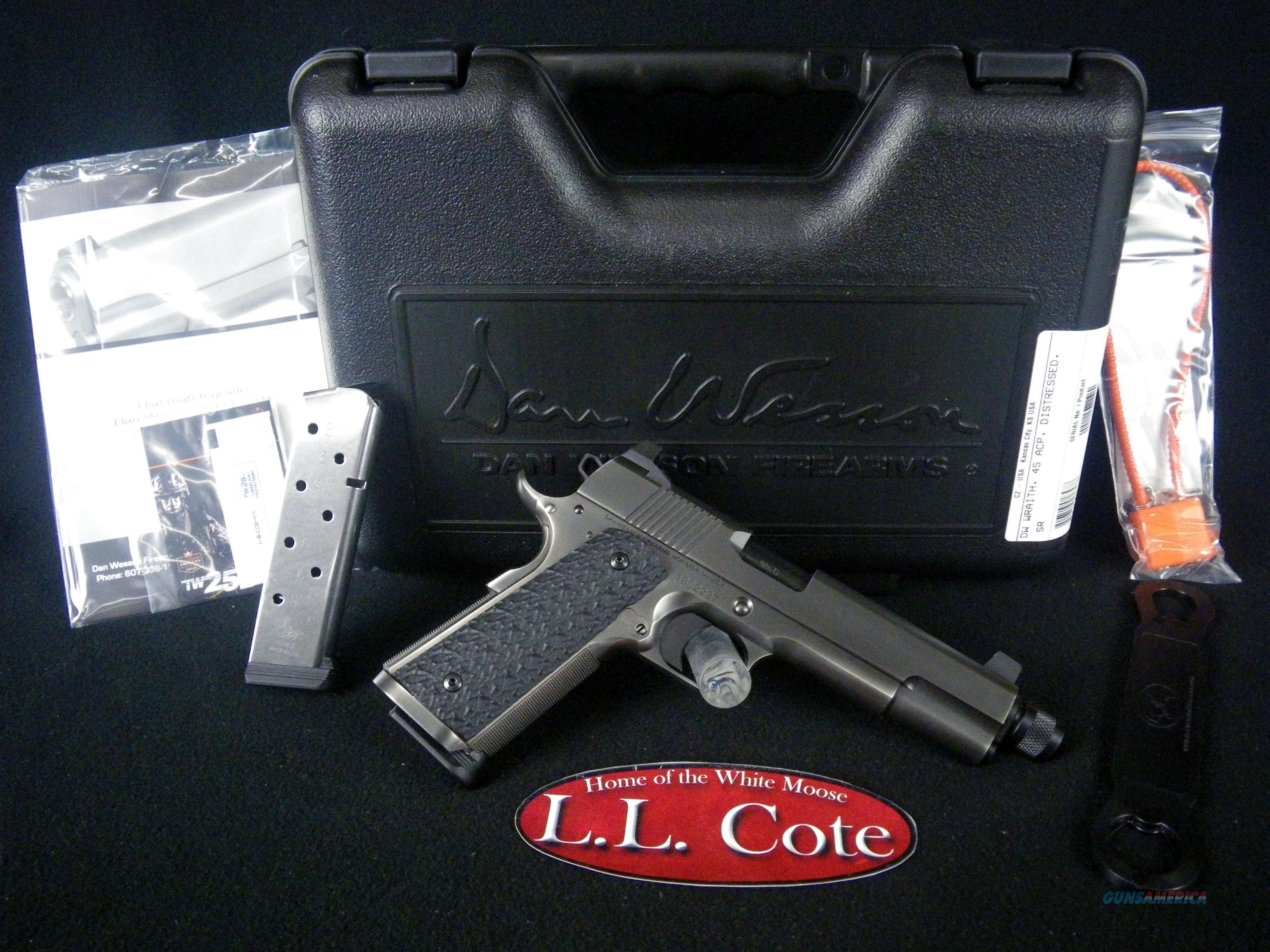 """CZ Dan Wesson Wraith SS 45ACP 5.75"""" NEW 01847  Guns > Pistols > CZ Pistols"""