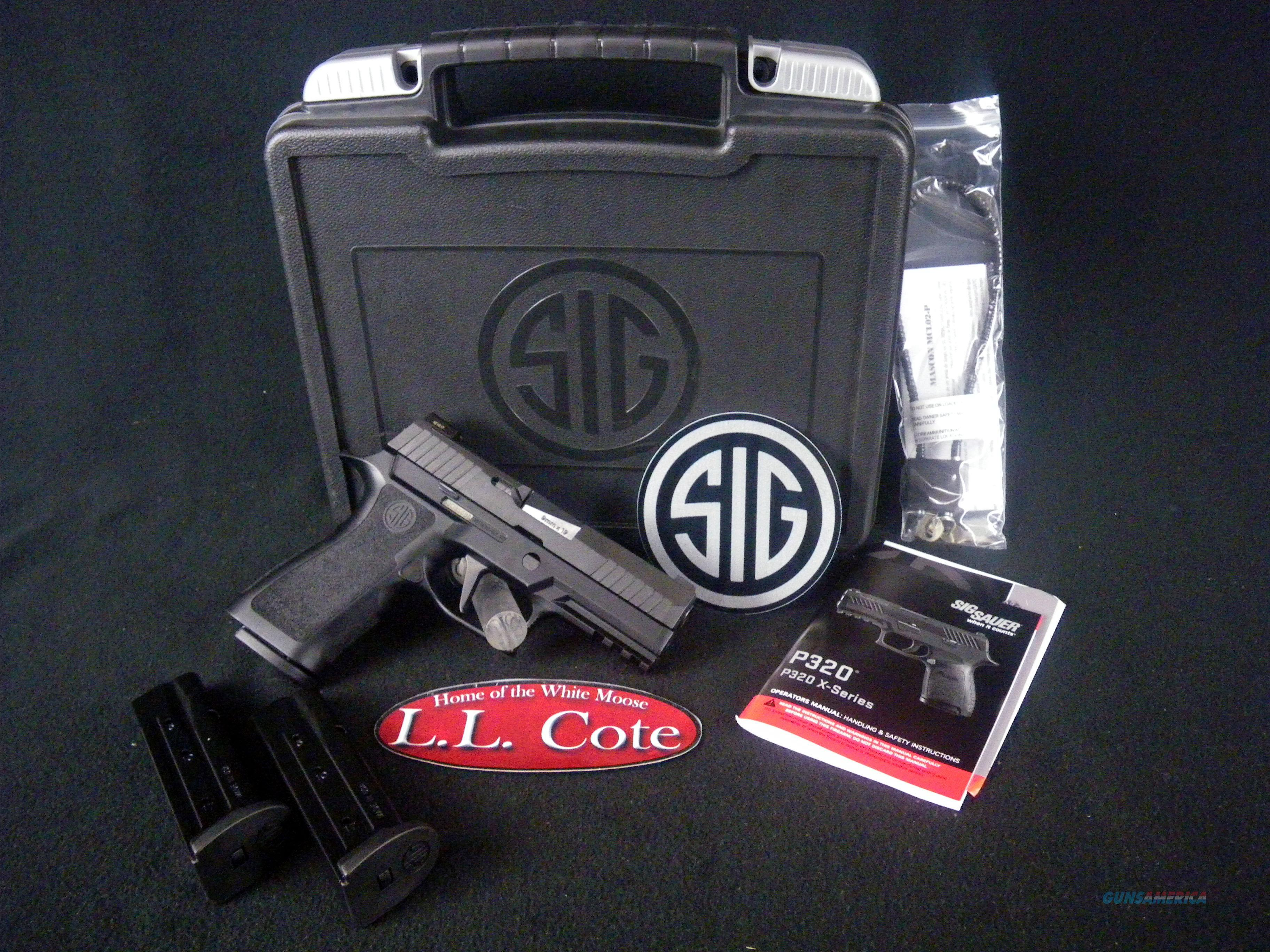 """Sig Sauer P320 X-Carry 9mm 3.9"""" X-Ray Sights NEW 320XCA-9-BXR3  Guns > Pistols > Sig - Sauer/Sigarms Pistols > P320"""