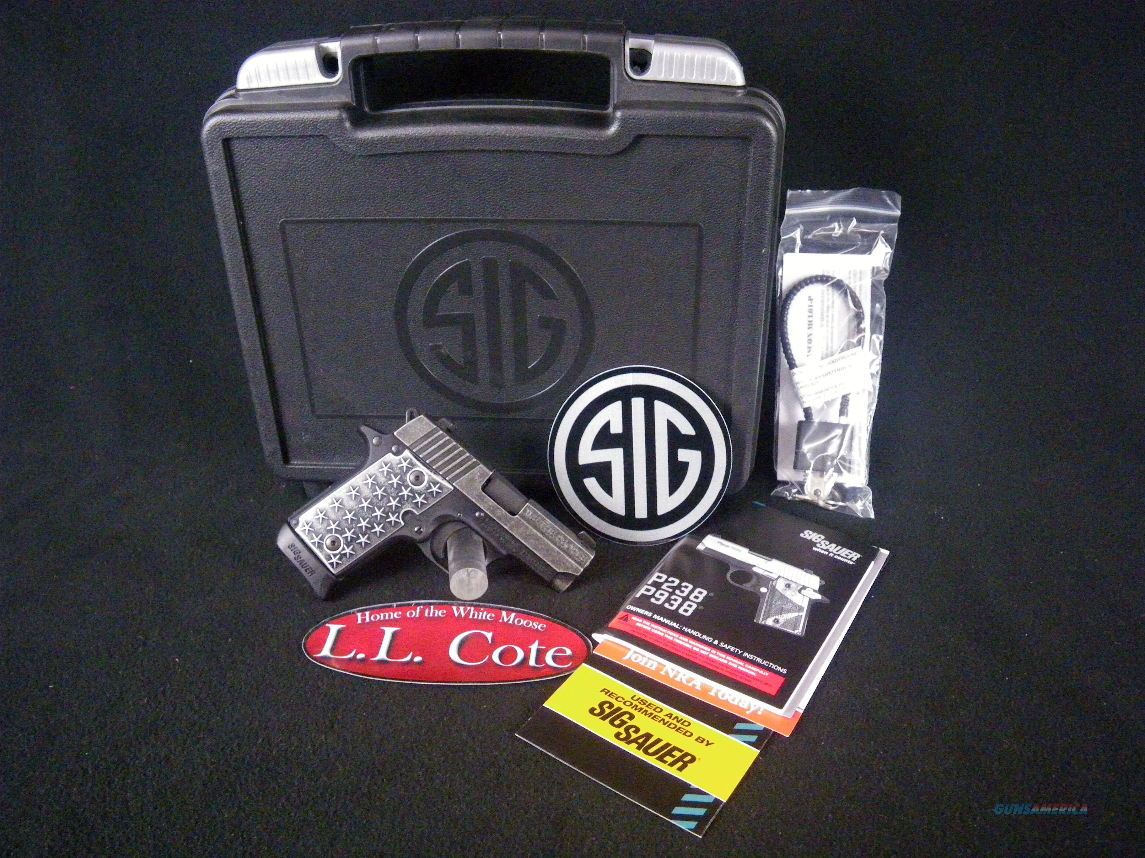 """Sig Sauer P238 We the People 380ACP 2.7"""" NEW 238-380-WTP  Guns > Pistols > Sig - Sauer/Sigarms Pistols > P238"""