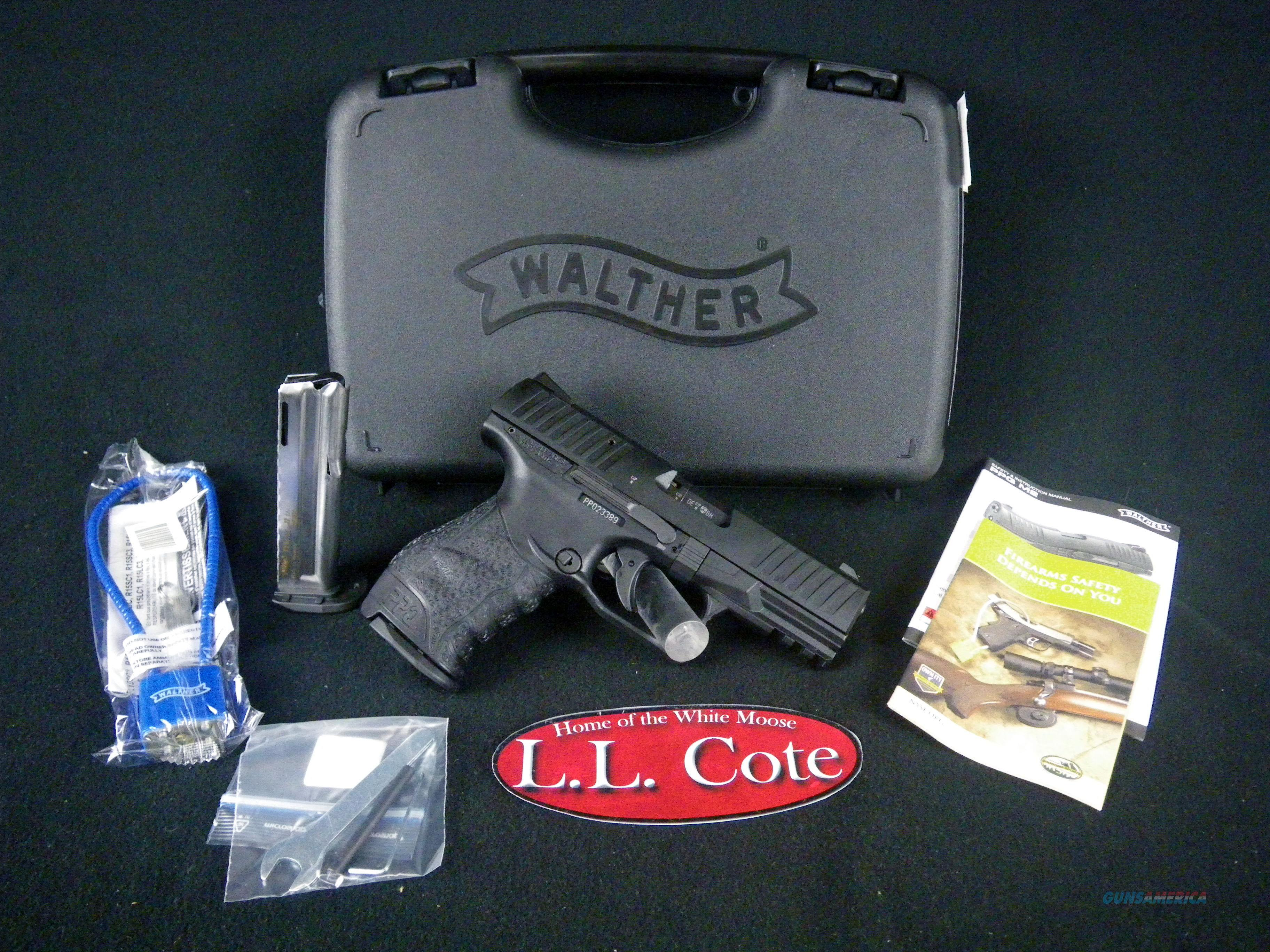 "Walther PPQ 22LR 4"" Black/Synthetic NEW 5100300  Guns > Pistols > Walther Pistols > Post WWII > P99/PPQ"