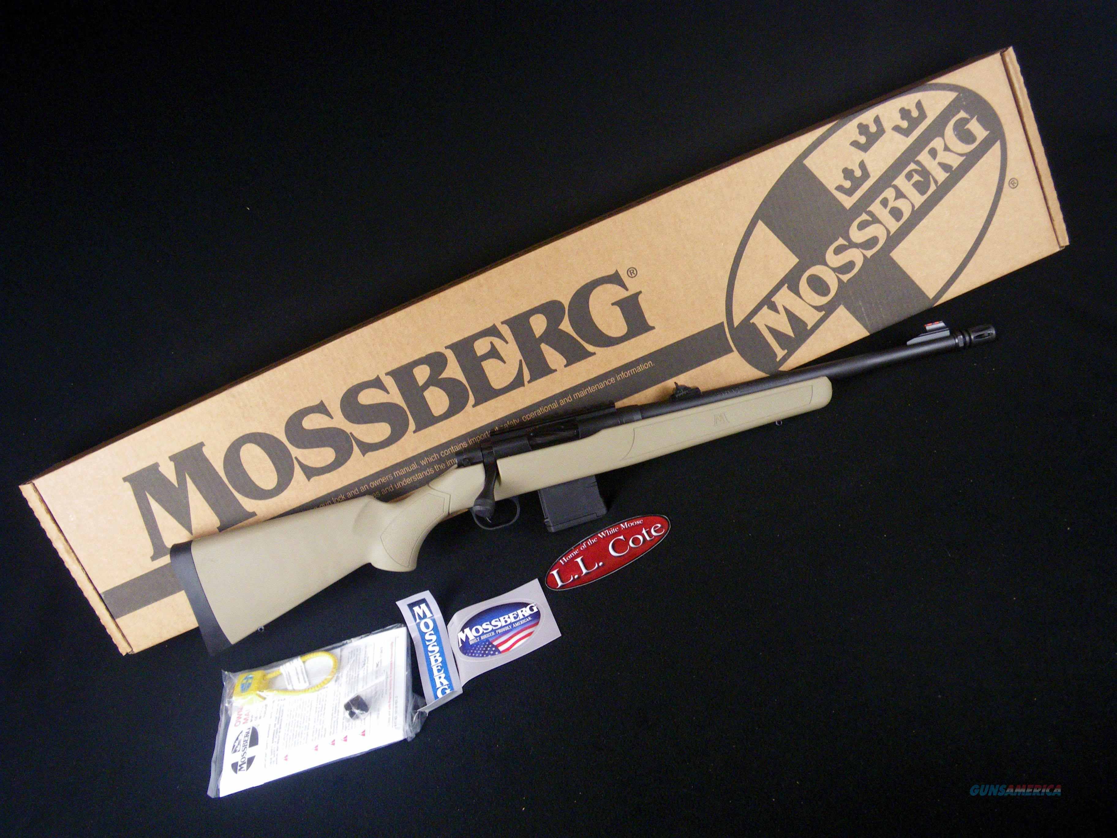 "Mossberg MVP Patrol Tan 5.56/223 16.25"" NEW 27709  Guns > Rifles > Mossberg Rifles > MVP"