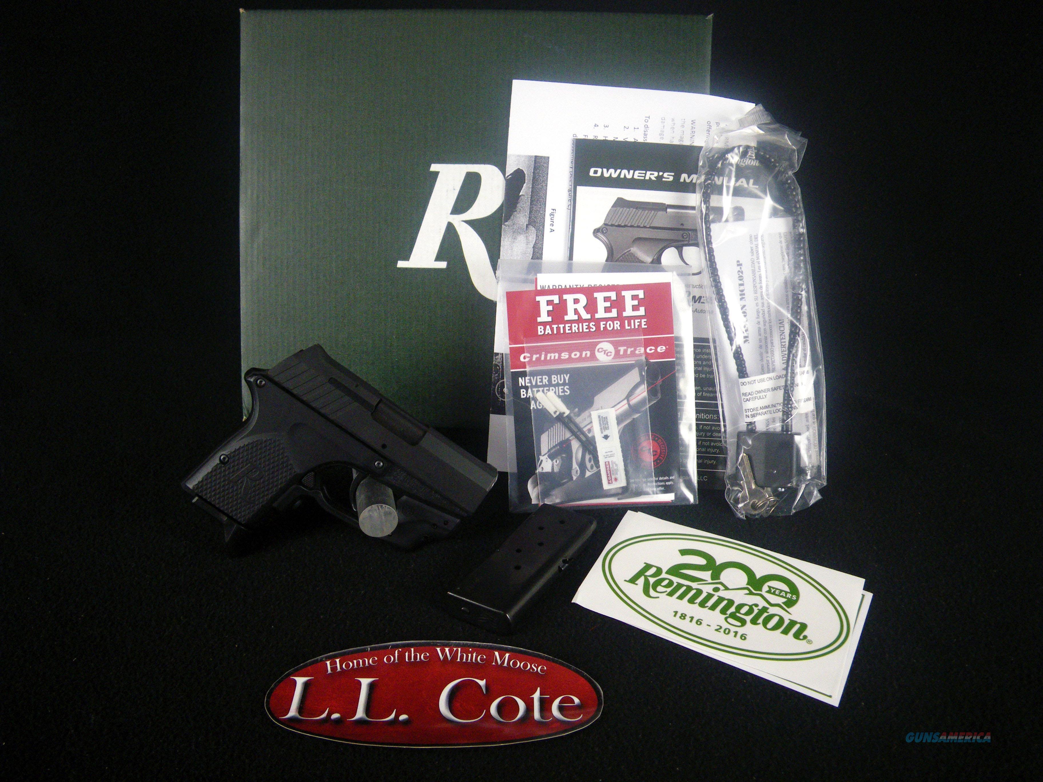 "Remington RM380 Micro Laser 380ACP 2.9"" NEW 96462  Guns > Pistols > Remington Pistols - Modern > RM380"