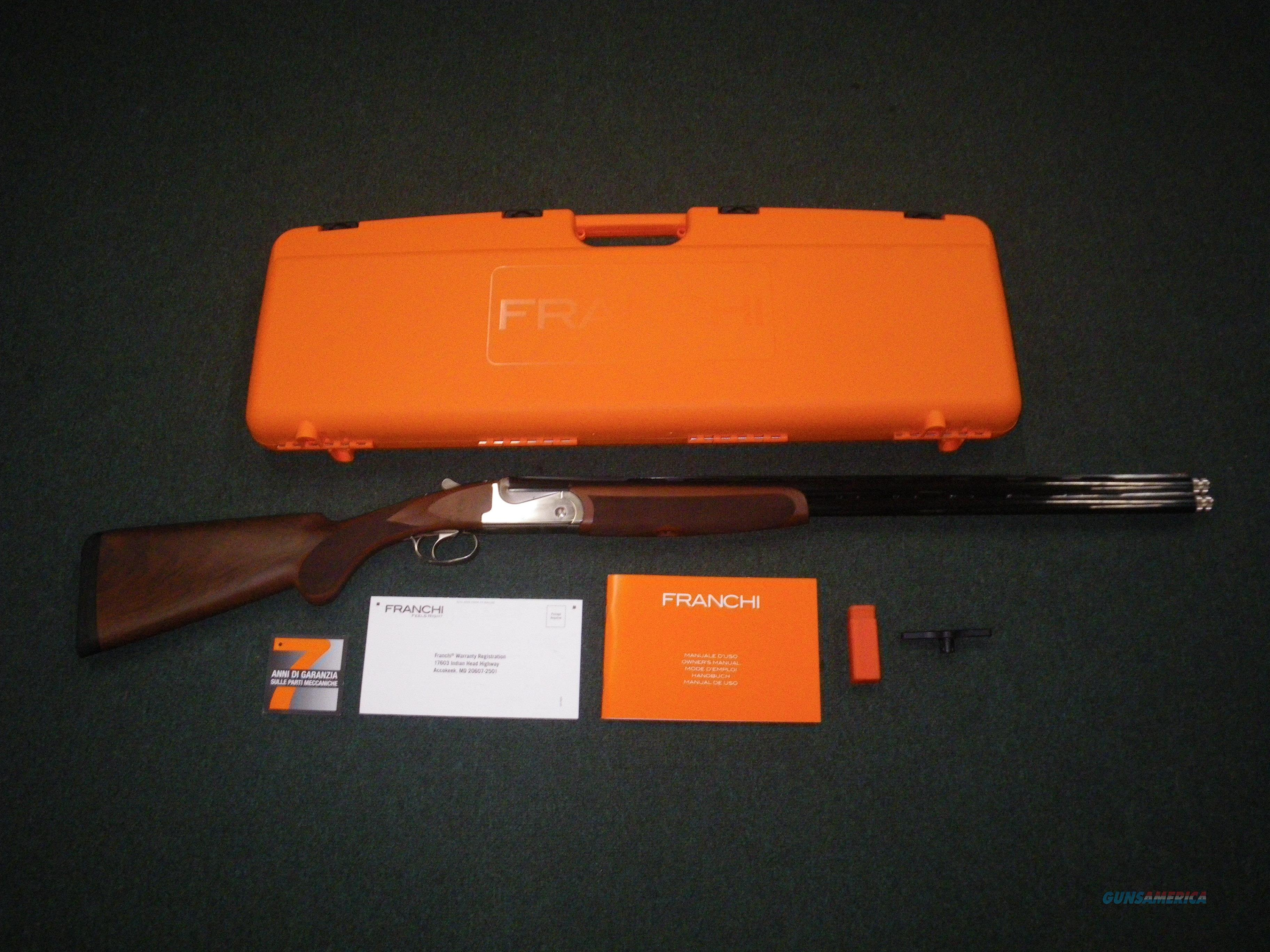"Franchi Instinct SL Walnut 12ga 28"" NEW 3"" 40815  Guns > Shotguns > Franchi Shotguns > Over/Under > Hunting"