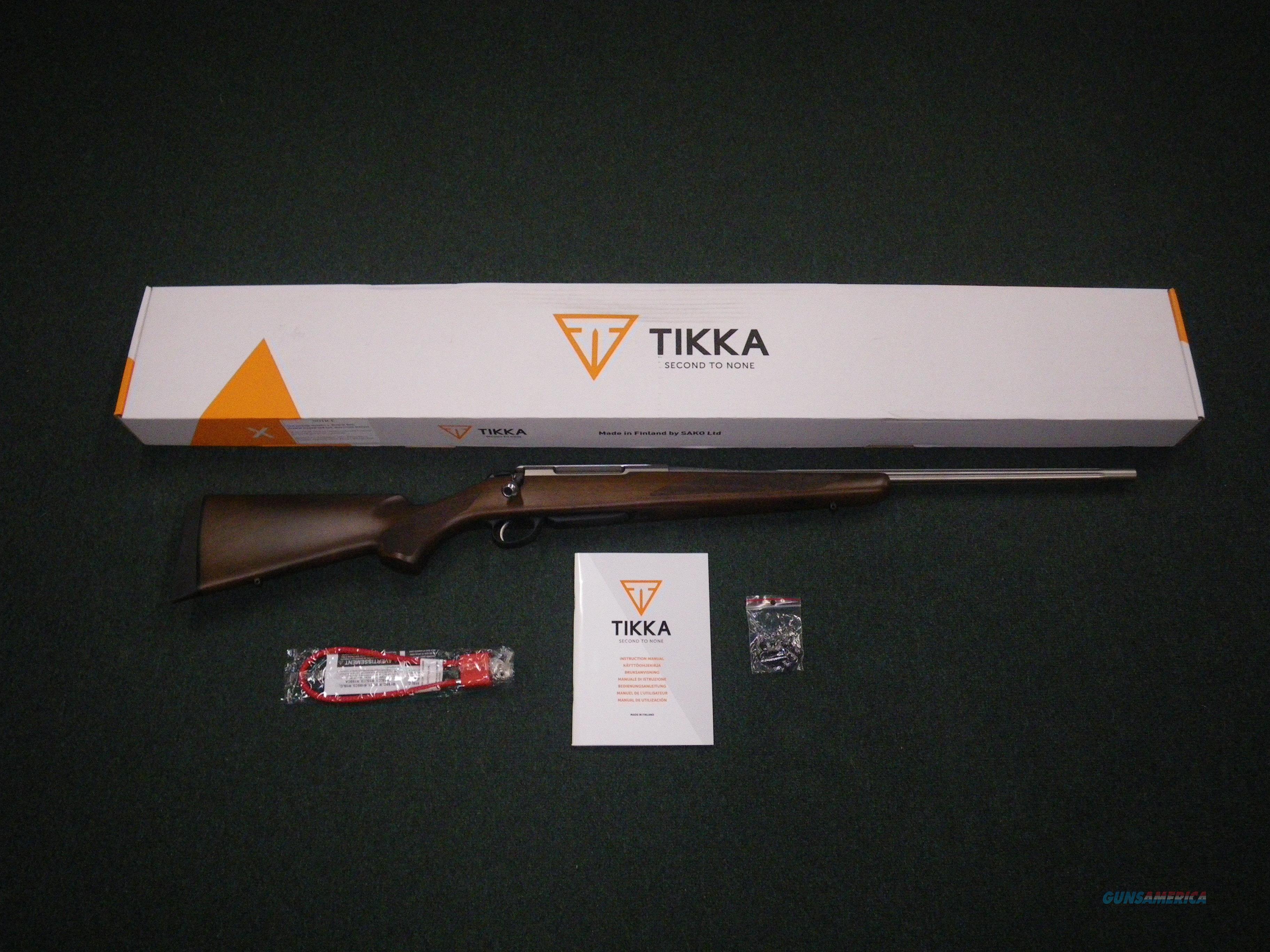 "Tikka T3x Hunter Stainless 308 Win 22.4"" NEW #JRTXA716  Guns > Rifles > Tikka Rifles > T3"