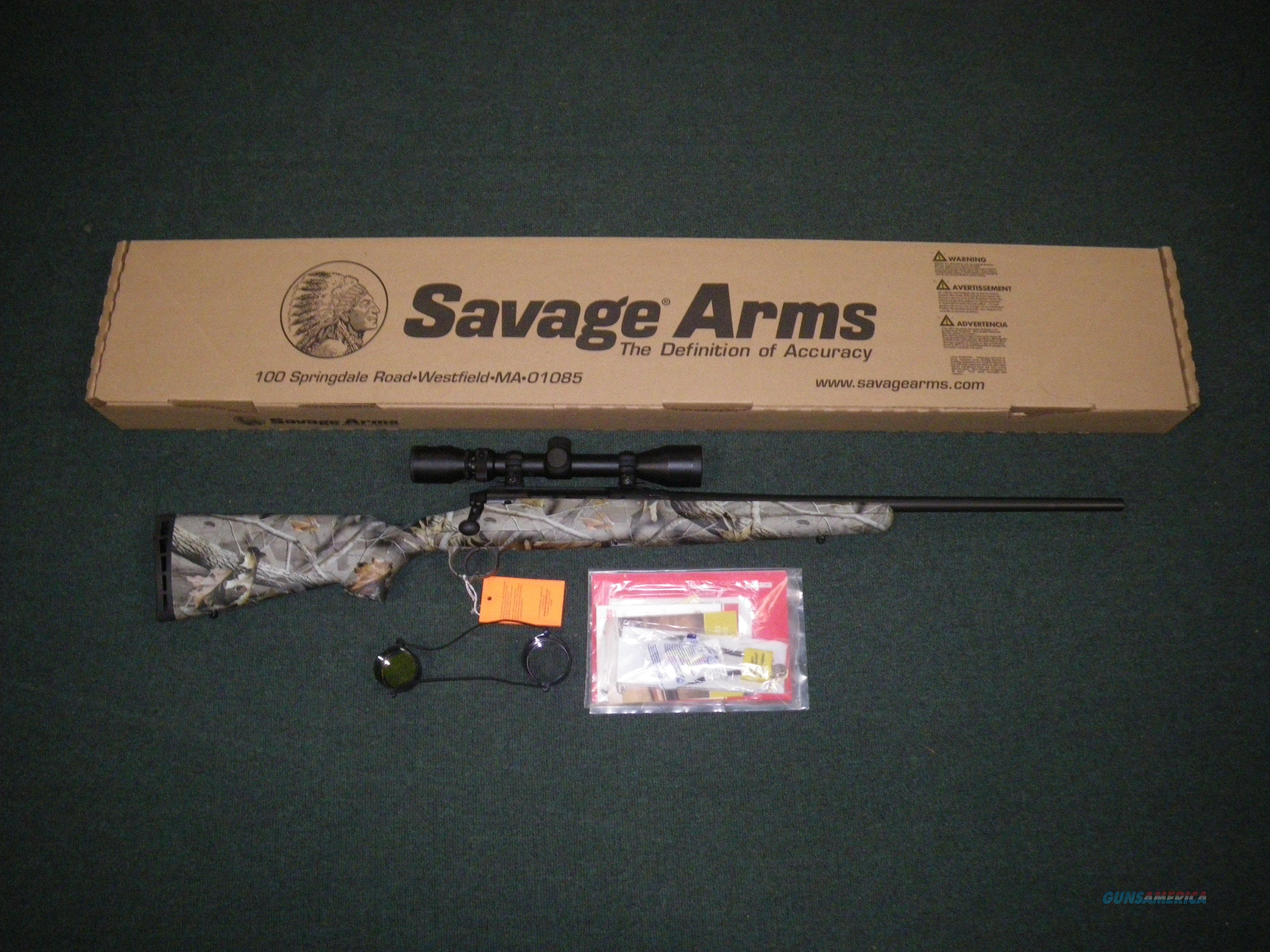 "Savage Axis XP Camo 308 Win 22"" 4 Rnd NEW #19246  Guns > Rifles > Savage Rifles > Axis"