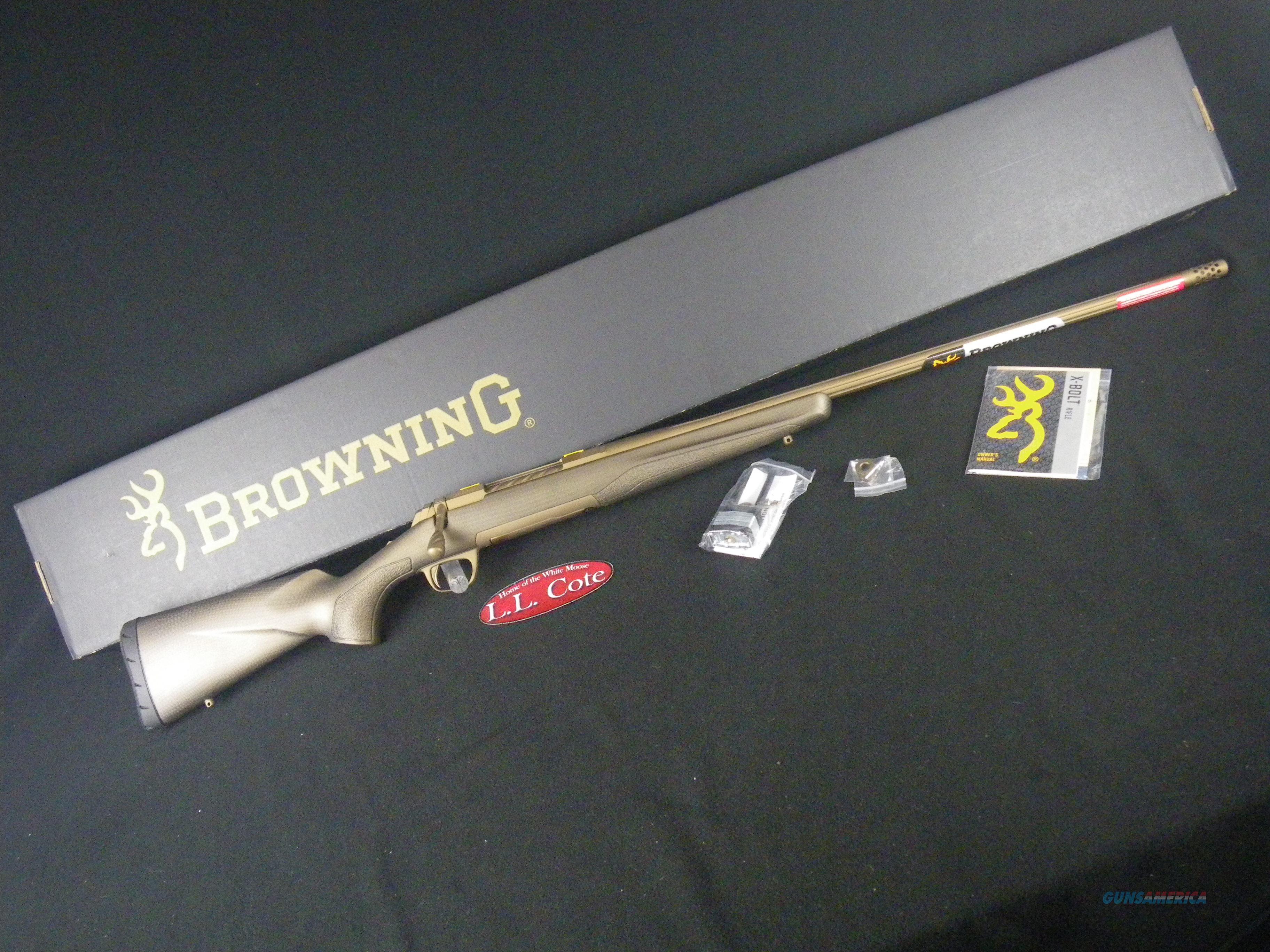 "Browning X-Bolt Pro Long Range 300 WSM 26"" NEW 035443246  Guns > Rifles > Browning Rifles > Bolt Action > Hunting > Blue"