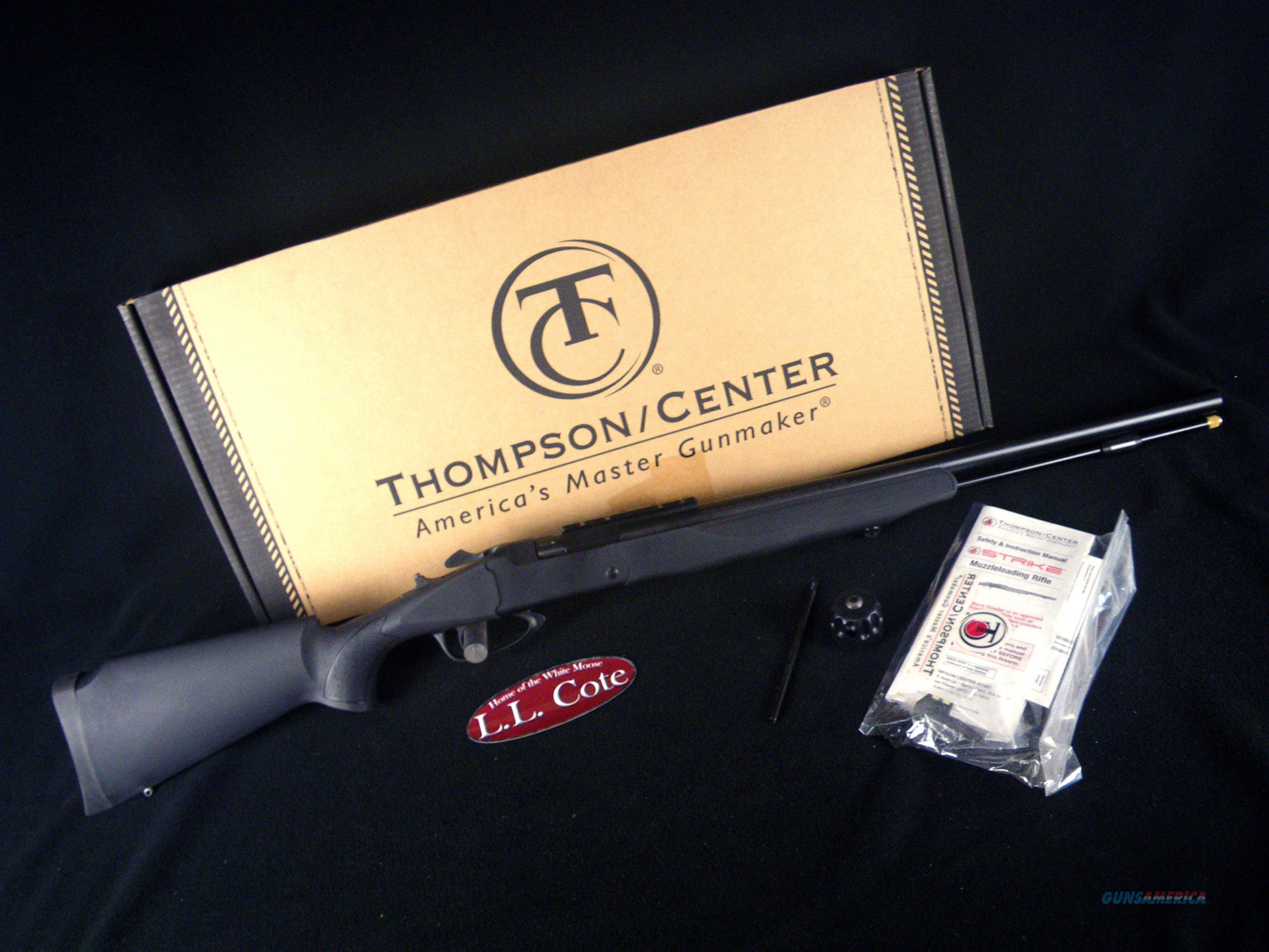 "Thompson Center Strike 50cal 24"" NEW Black 10291  Guns > Rifles > Thompson Center Muzzleloaders > Inline Style"