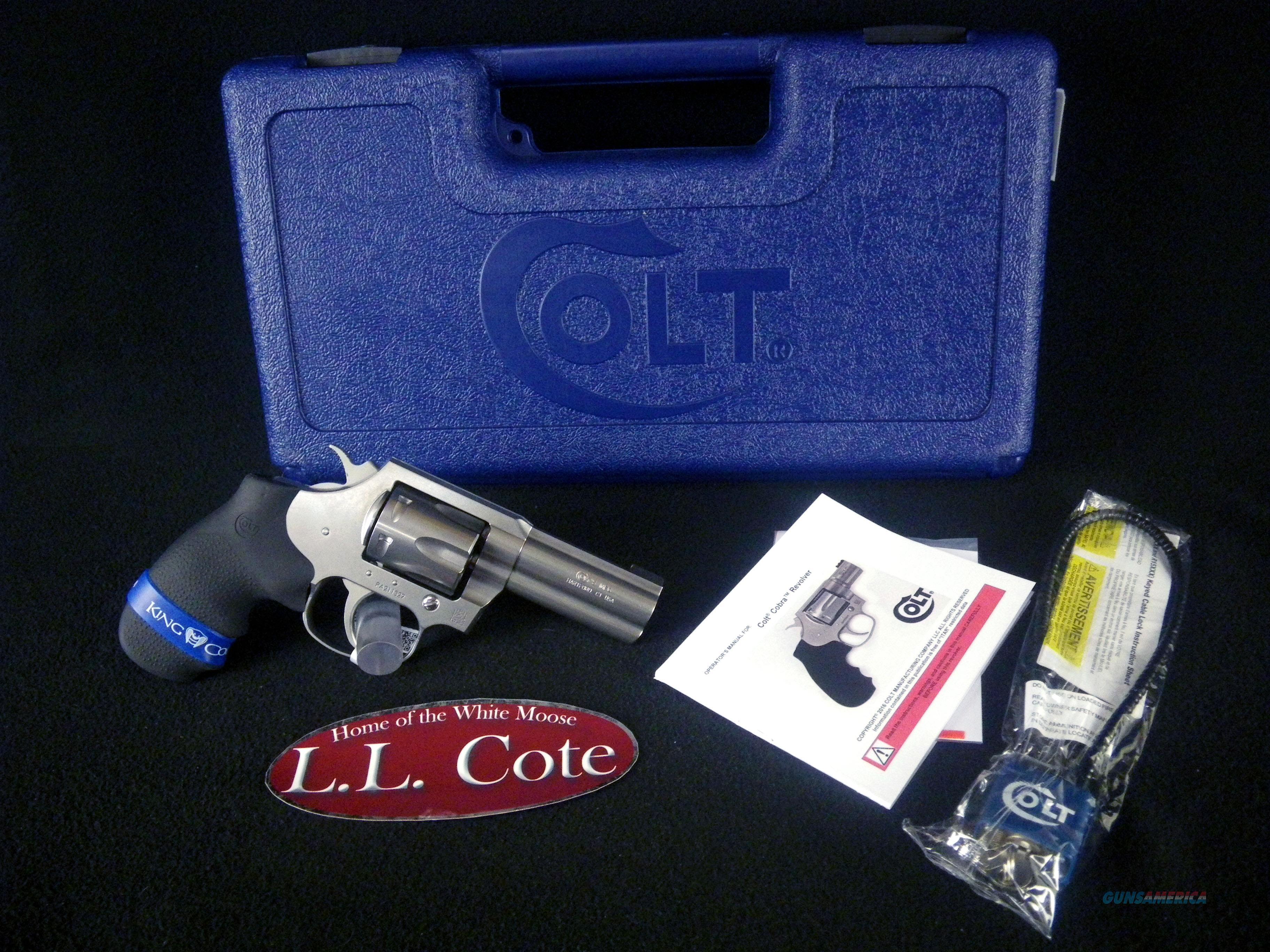 "Colt King Cobra 357 Mag 3"" Stainless NEW SB3BB  Guns > Pistols > Colt Double Action Revolvers- Modern"