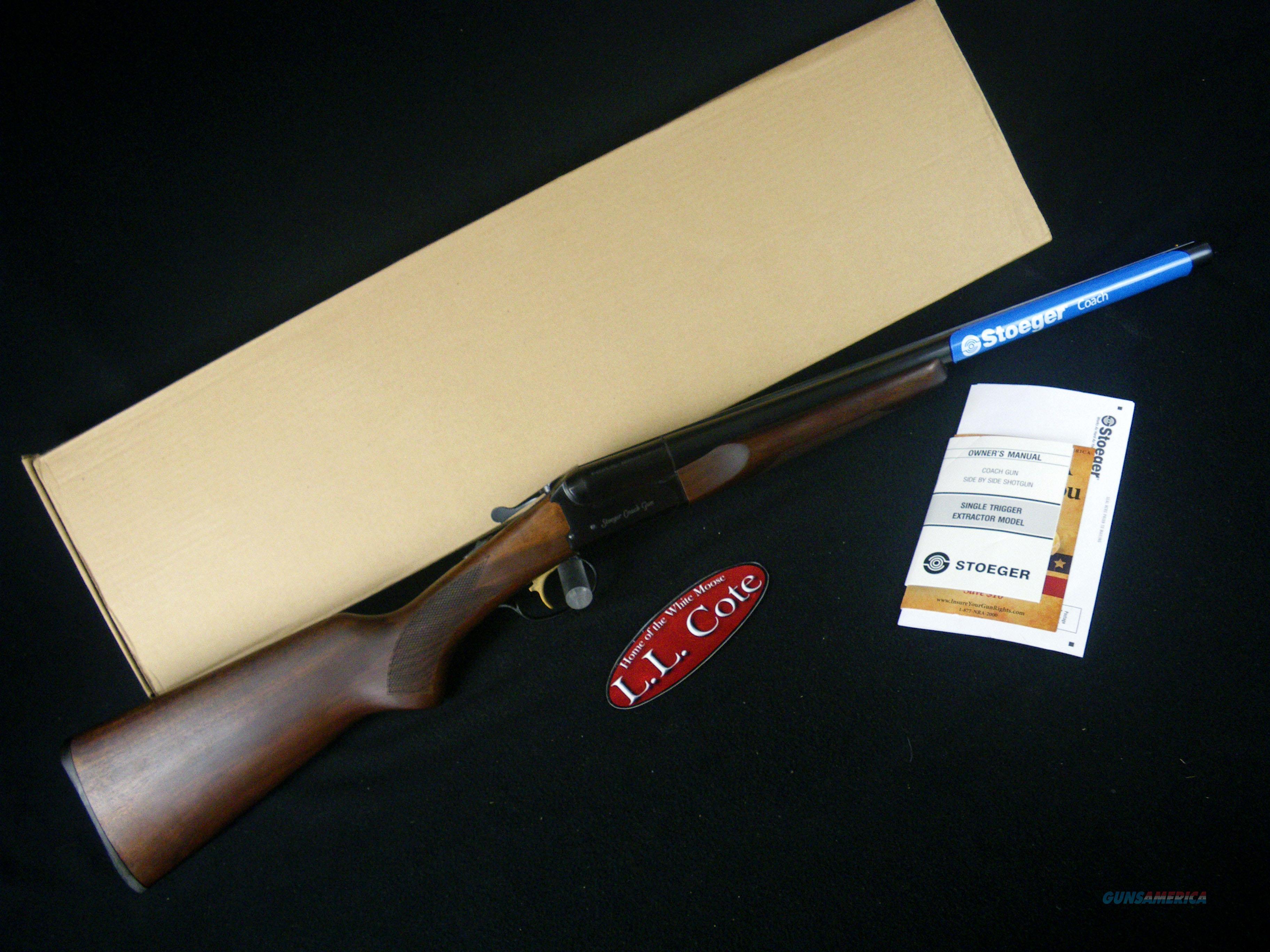 """Stoeger Coach Gun Wood/Blue 12ga 20"""" NEW 31460  Guns > Shotguns > Stoeger Shotguns"""