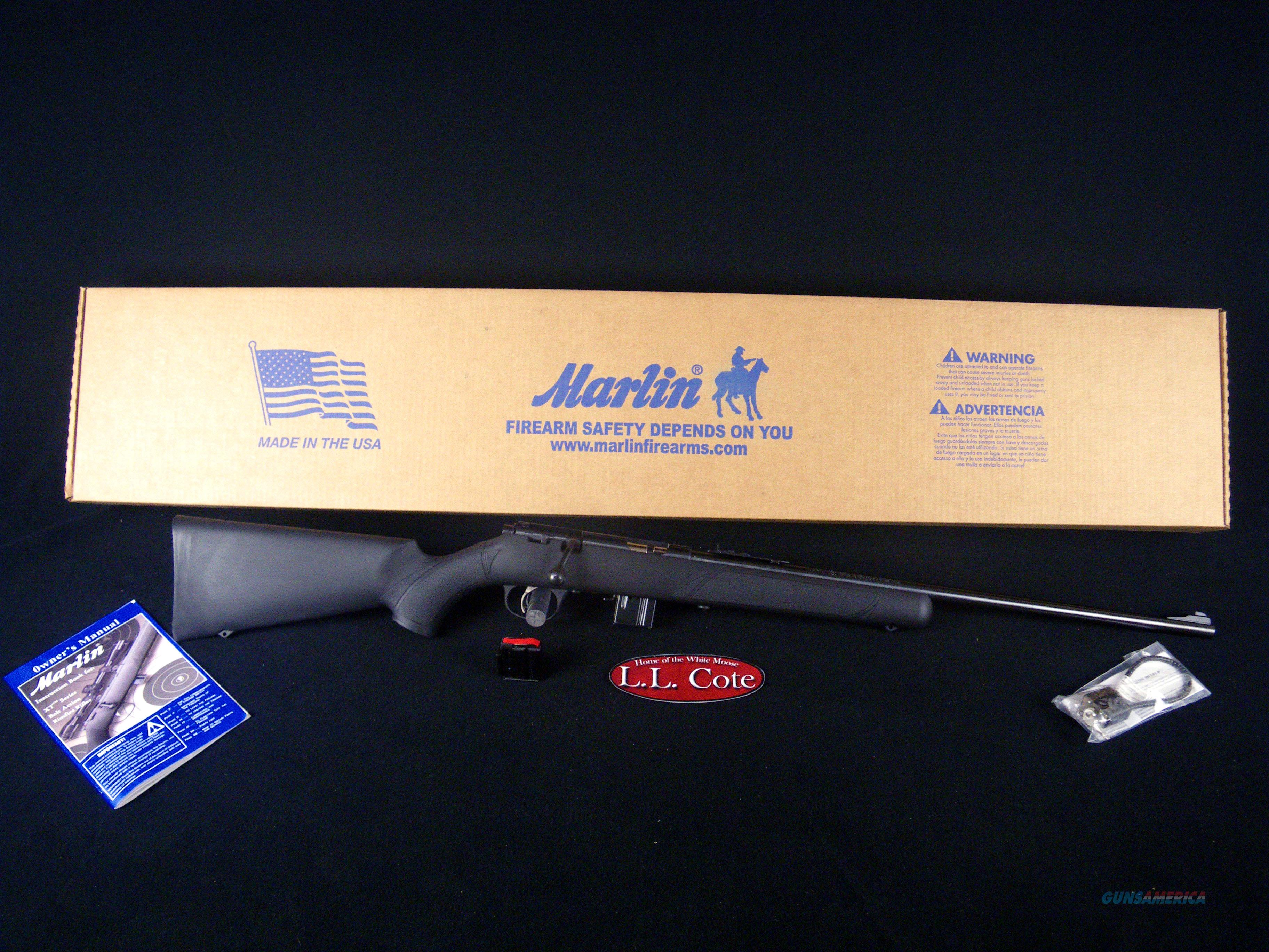 "Marlin XT-17R 17hmr 22"" Synthetic/Blued NEW 70701  Guns > Rifles > Marlin Rifles > Modern > Bolt/Pump"