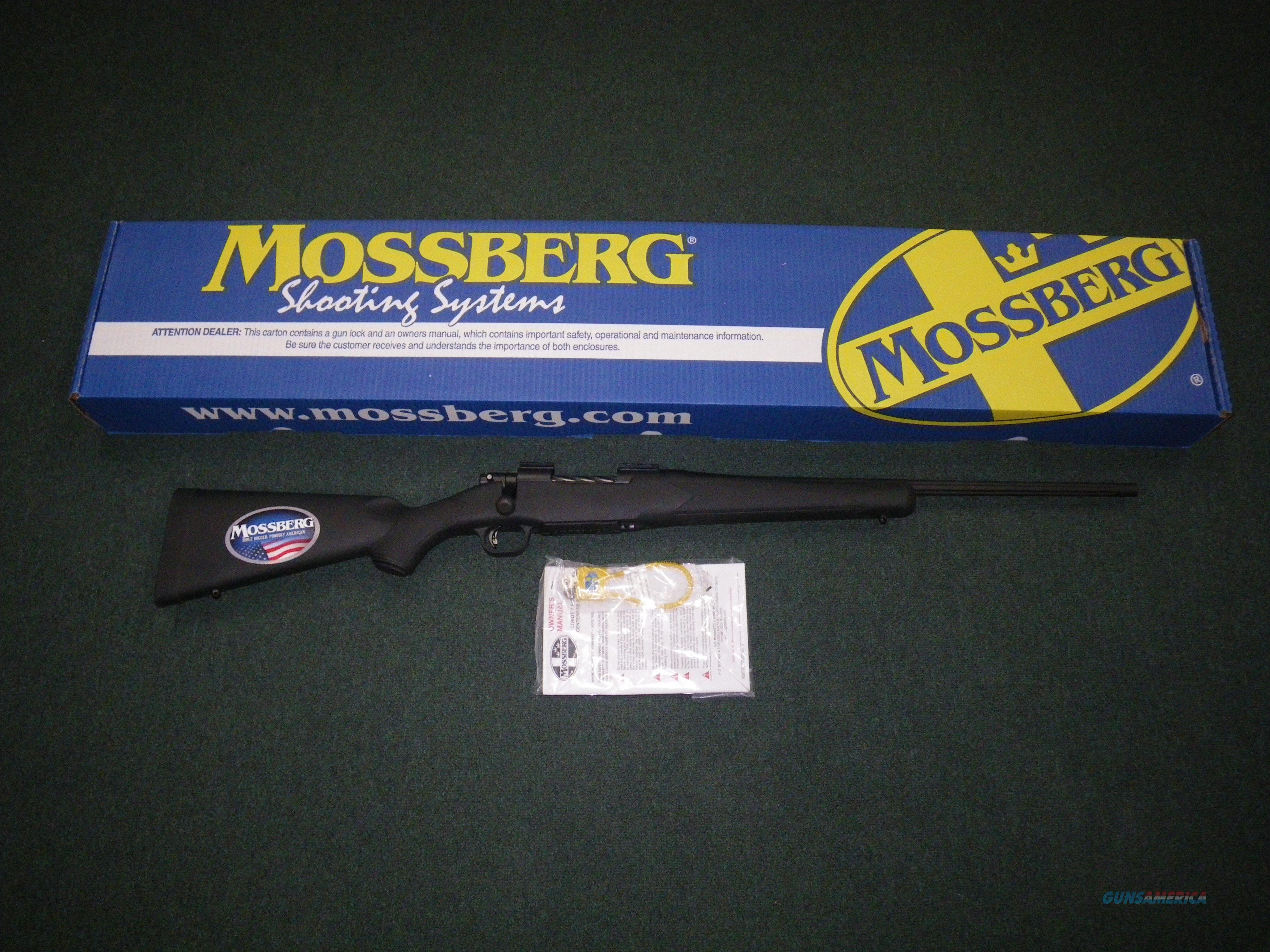 "Mossberg Patriot Synthetic 7mm-08 22"" Fluted NEW #27851  Guns > Rifles > Mossberg Rifles > Patriot"