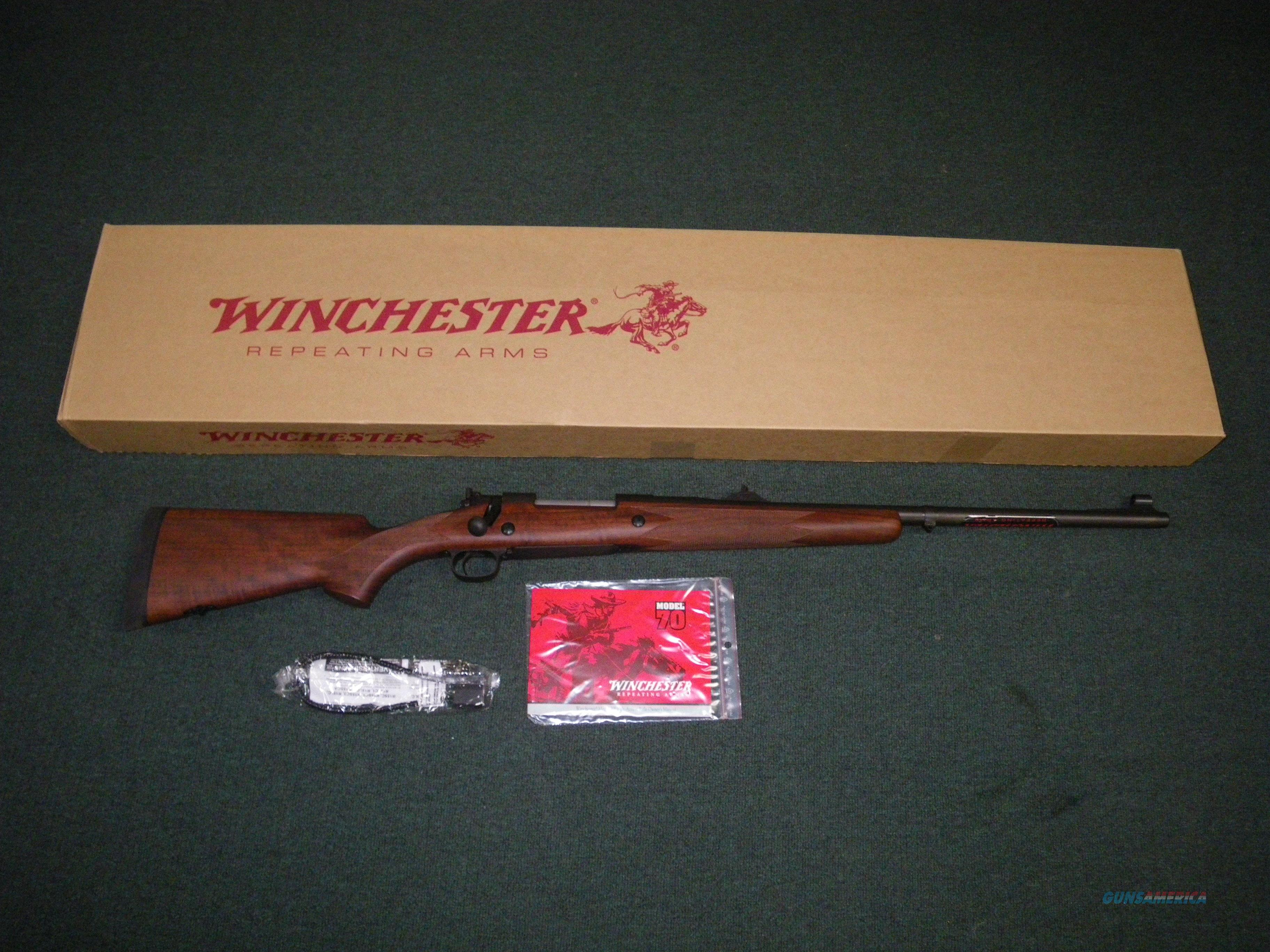 "Winchester Model 70 Safari Express 375 H&H Mag 24"" NEW #535204161  Guns > Rifles > Winchester Rifles - Modern Bolt/Auto/Single > Model 70 > Post-64"