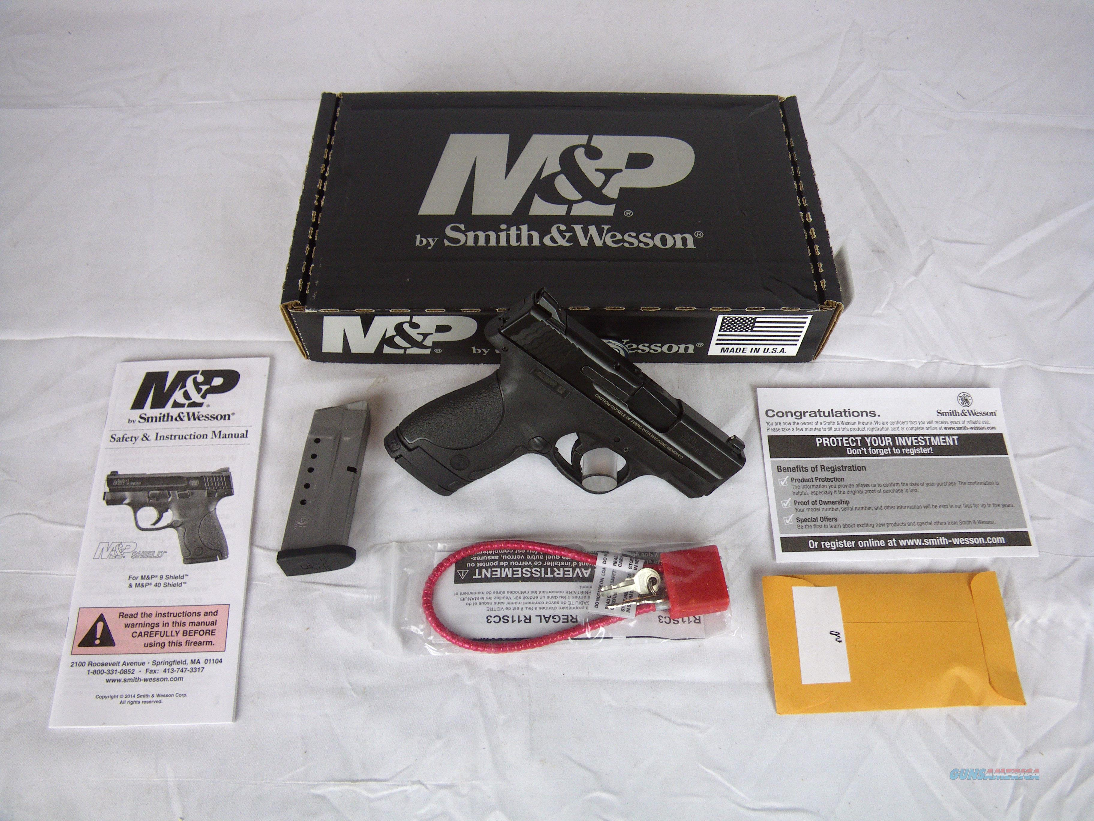 "Smith & Wesson M&P9 Shield 9mm 3.1"" S&W NEW #180021  Guns > Pistols > Smith & Wesson Pistols - Autos > Shield"
