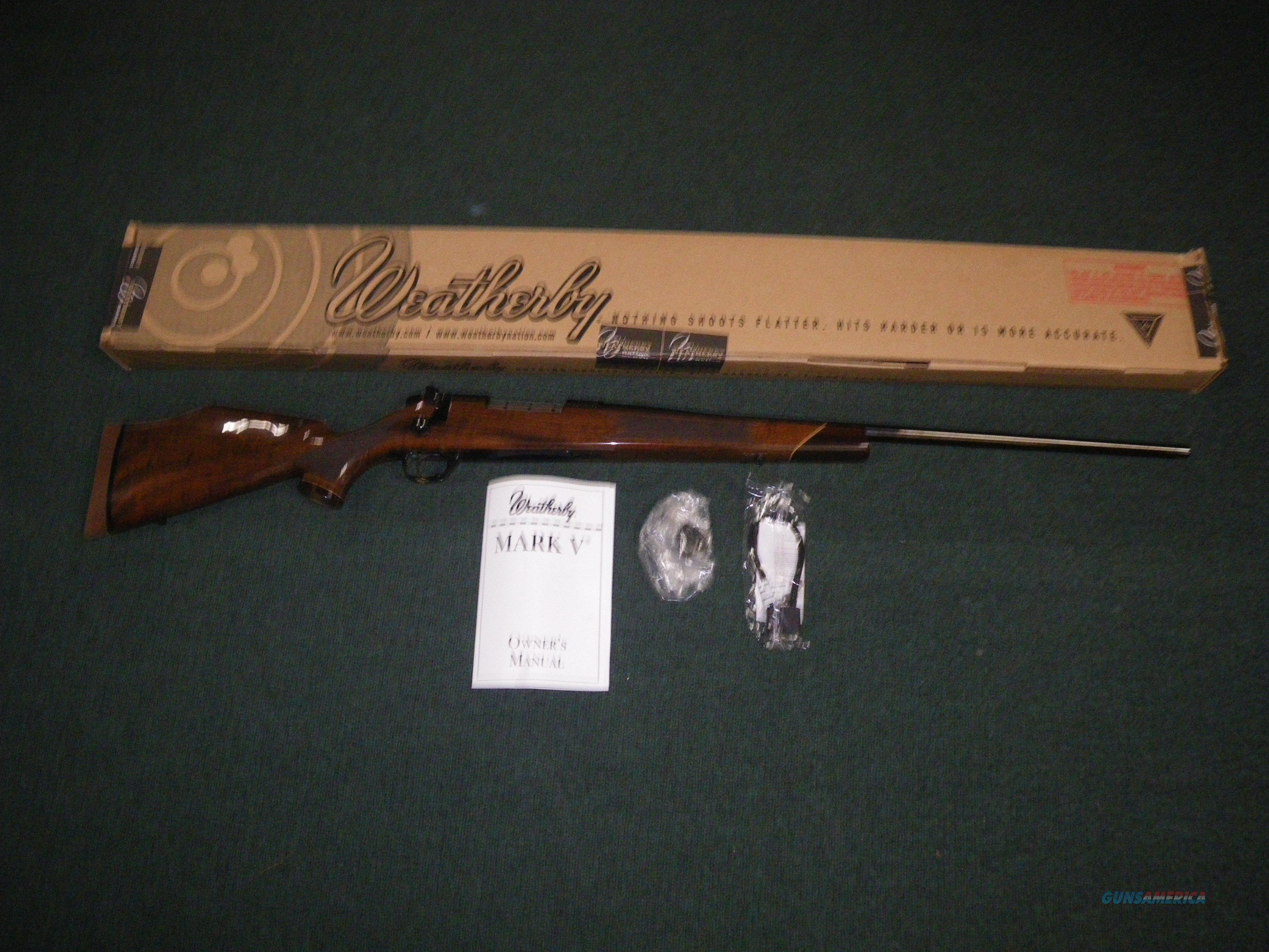 "Weatherby Mark V Deluxe 6.5-300 Wby 26"" Walnut NEW MDXM653WR60  Guns > Rifles > Weatherby Rifles > Sporting"