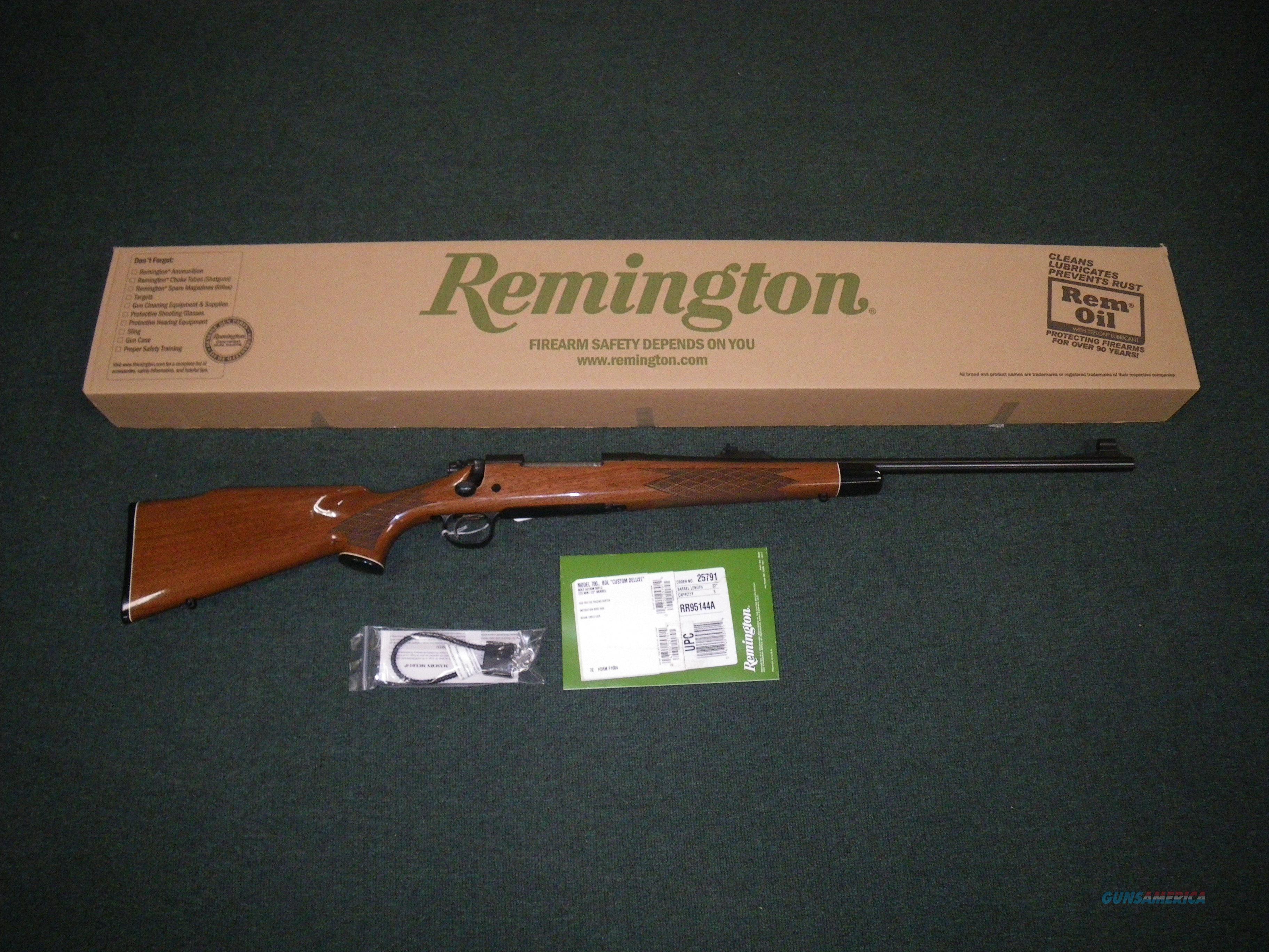 "Remington Model 700 BDL 7mm Rem Mag 24"" Wood/Blue NEW #25803  Guns > Rifles > Remington Rifles - Modern > Model 700 > Sporting"