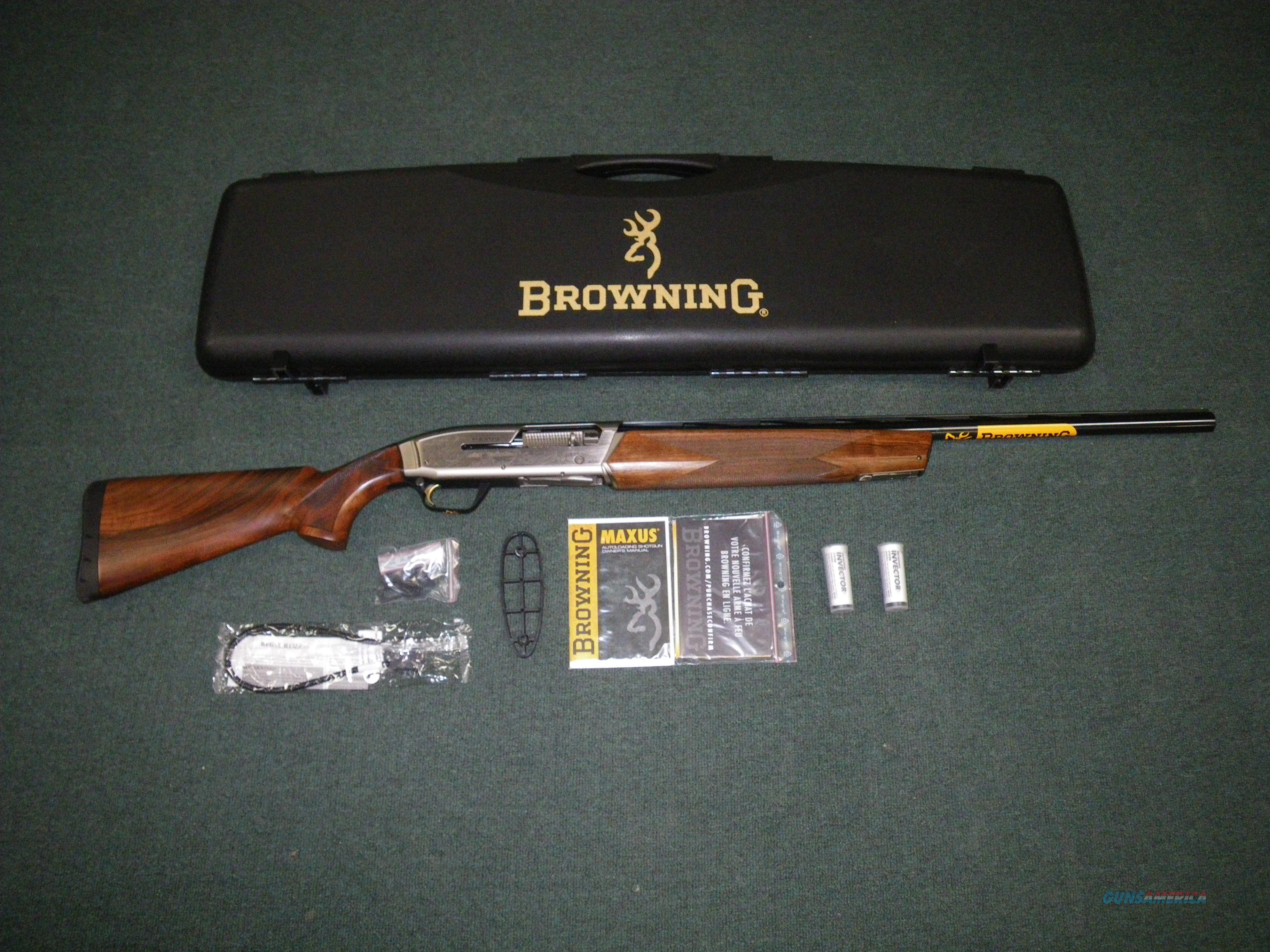 "Browning Maxus Ultimate 12ga 26"" 3"" Chamber NEW #011640305  Guns > Shotguns > Browning Shotguns > Autoloaders > Hunting"