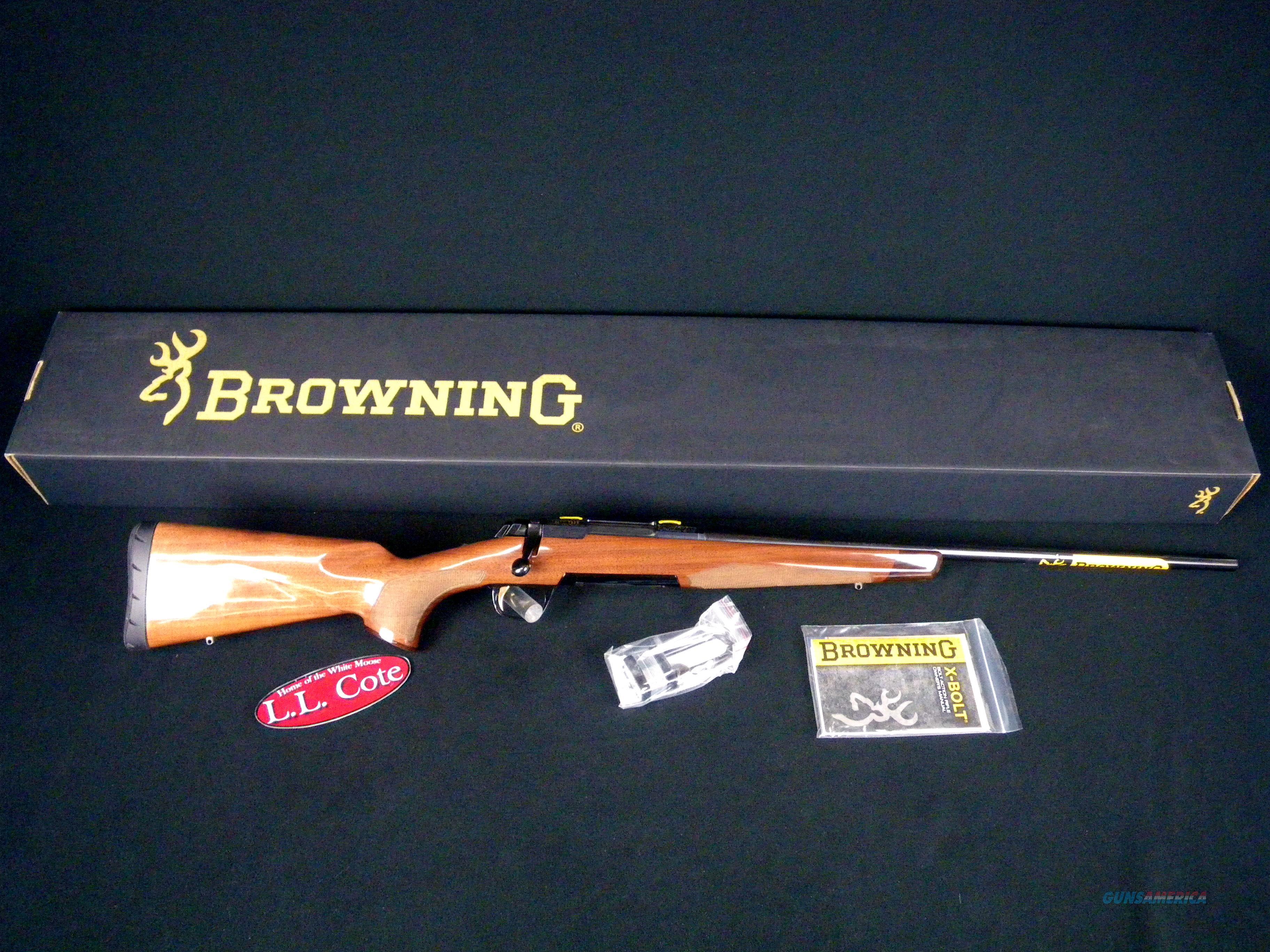 "Browning X-Bolt Medallion 270 Win 22"" NIB #035200224  Guns > Rifles > Browning Rifles > Bolt Action > Hunting > Blue"