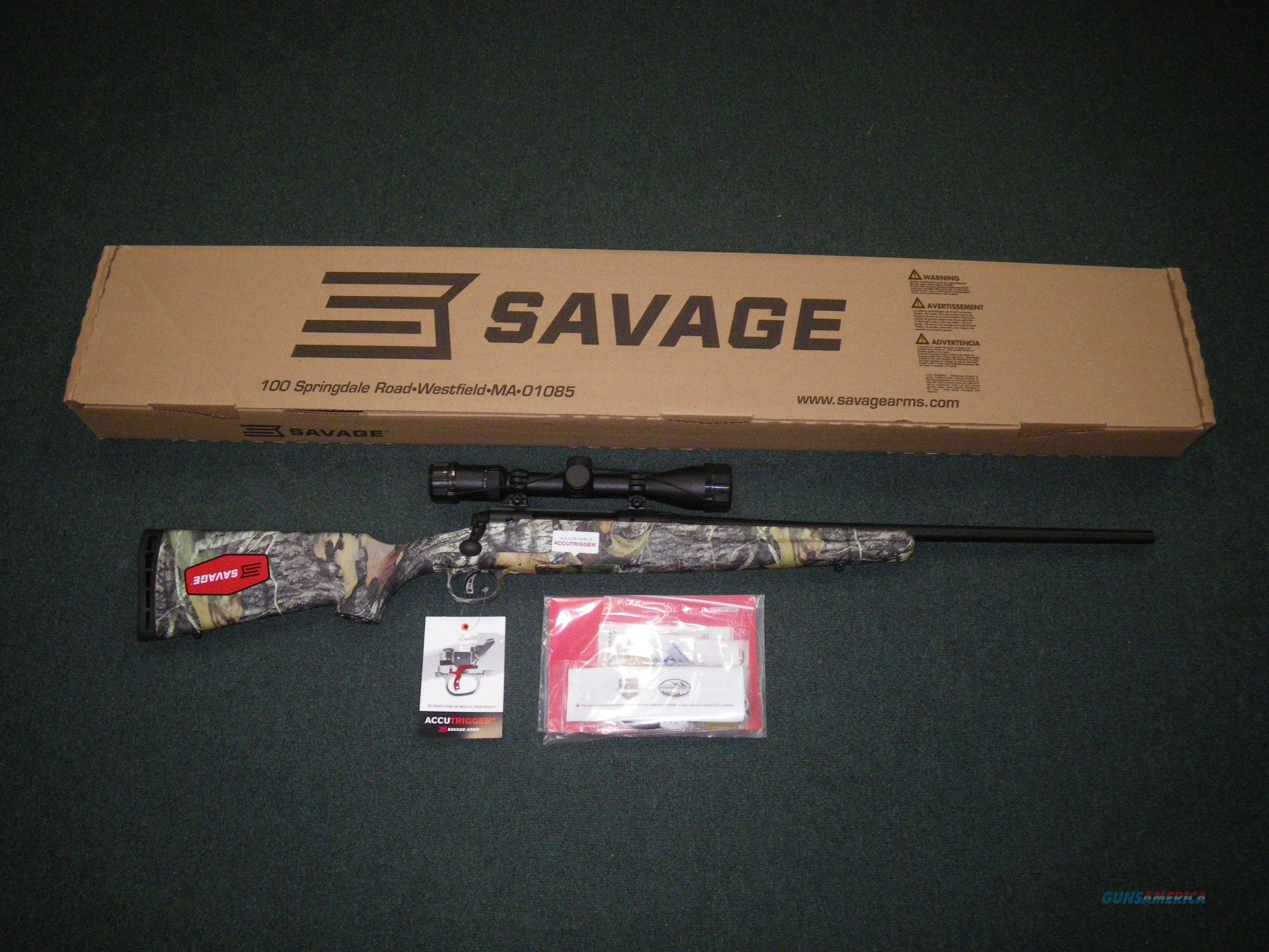"Savage Axis II XP MOBU Scoped 7mm-08 Rem 22"" NEW #22242  Guns > Rifles > Savage Rifles > Axis"