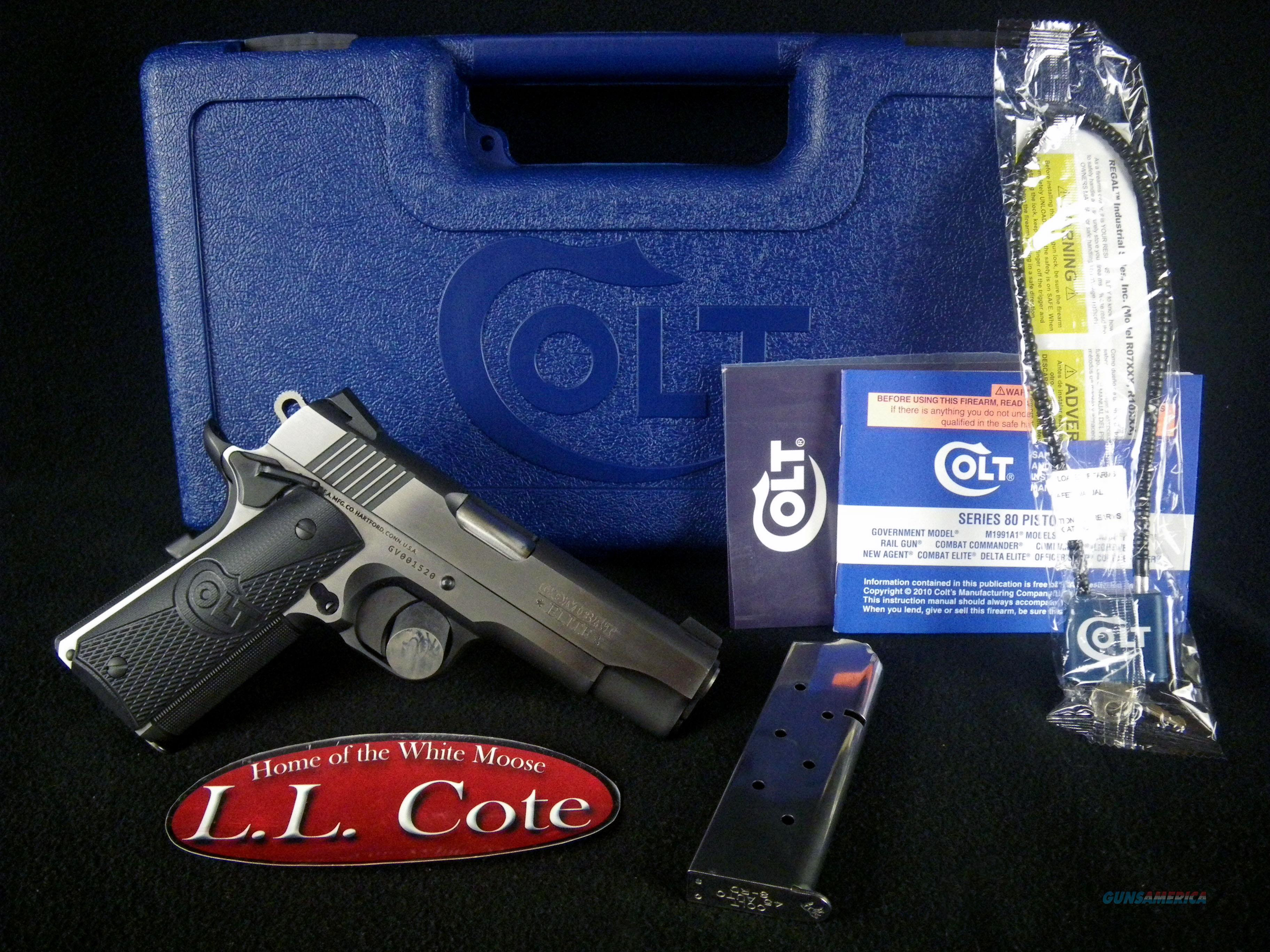 "Colt Combat Elite Commander 45ACP 4.25"" NEW O4080CE  Guns > Pistols > Colt Automatic Pistols (1911 & Var)"
