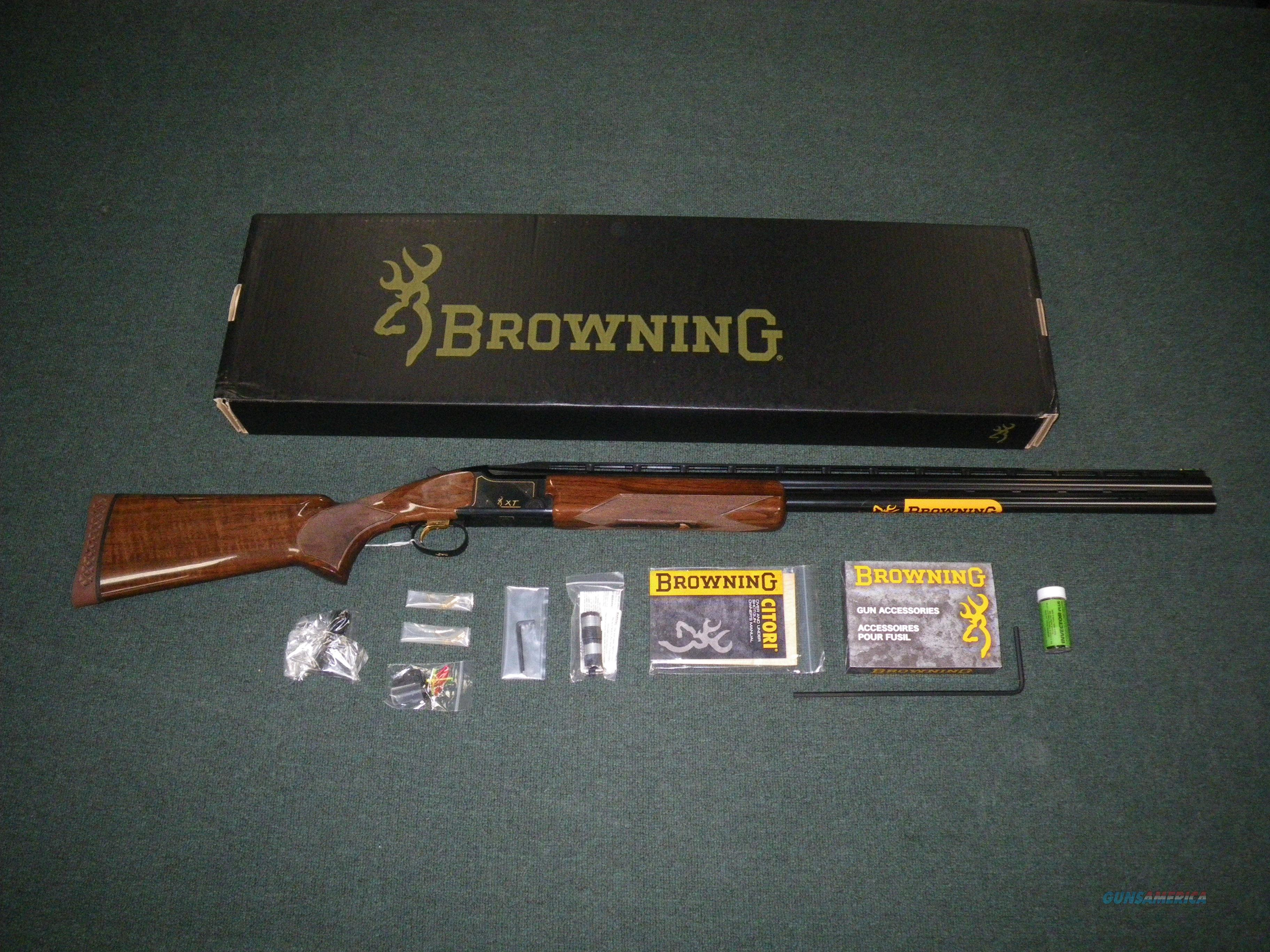 "Browning Citori XT Trap Adj Comb 12ga 30"" NEW Grd1 #013621426  Guns > Shotguns > Browning Shotguns > Over Unders > Citori > Trap/Skeet"