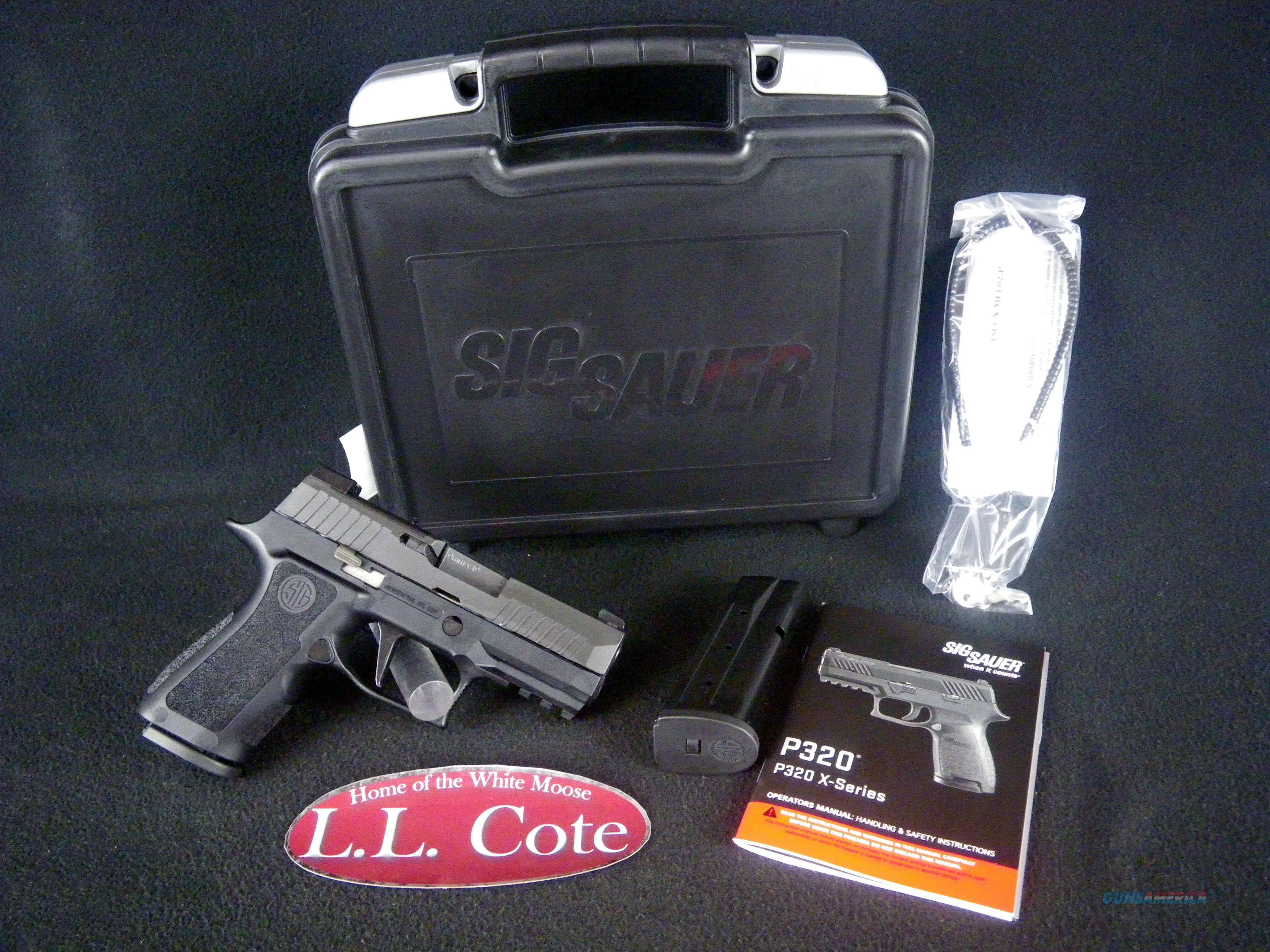 "Sig Sauer P320 XCompact 9mm 3.6"" NEW 320XC-9-BXR3  Guns > Pistols > Sig - Sauer/Sigarms Pistols > P320"
