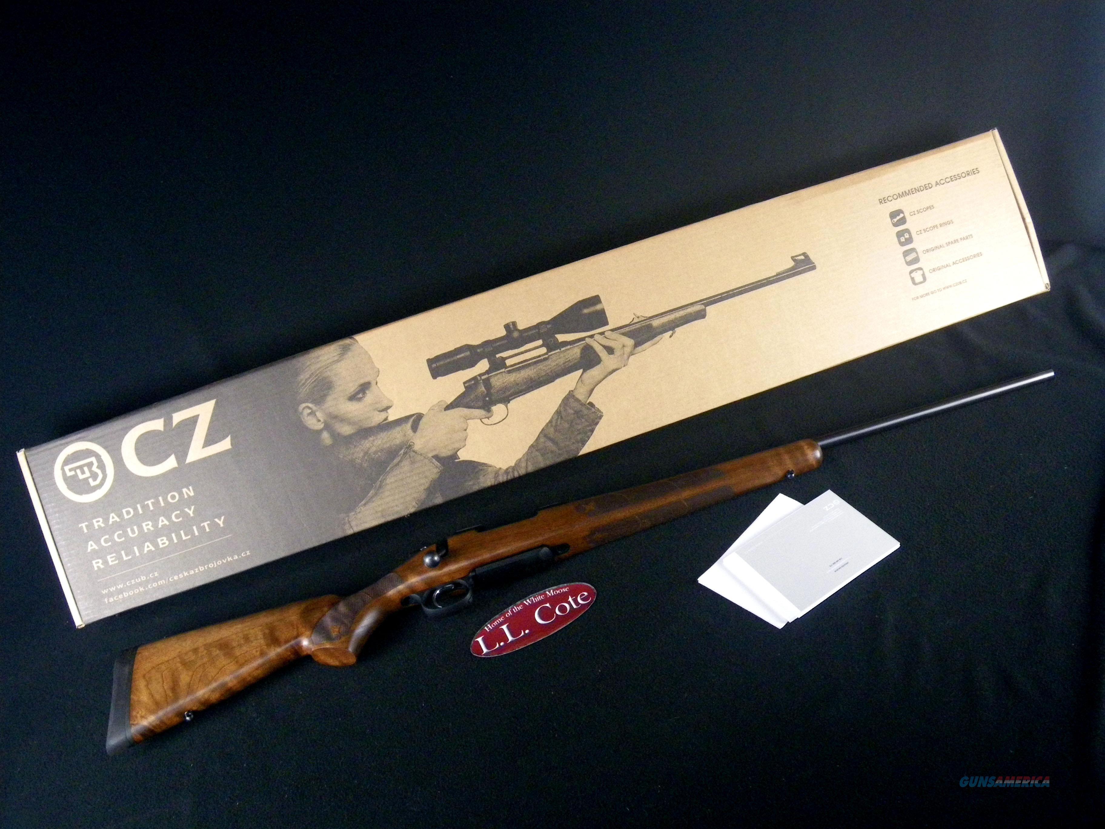 """CZ 557 American 308 Win 24"""" Walnut/Blued NEW 04834  Guns > Rifles > CZ Rifles"""