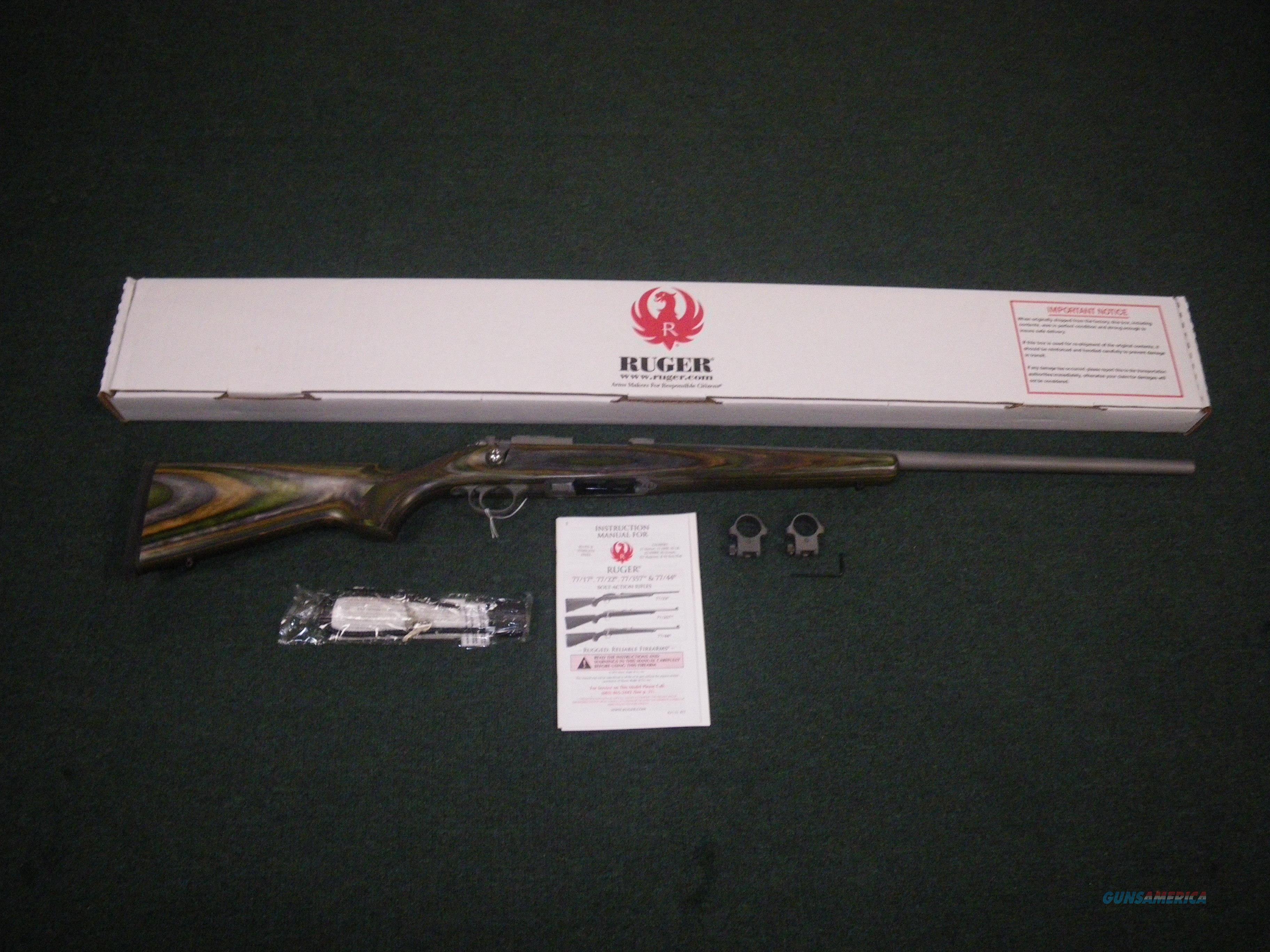 "Ruger 77/22 Model 77 Laminate 22 Hornet 24"" NEW #7204R  Guns > Rifles > Ruger Rifles > Model 77"