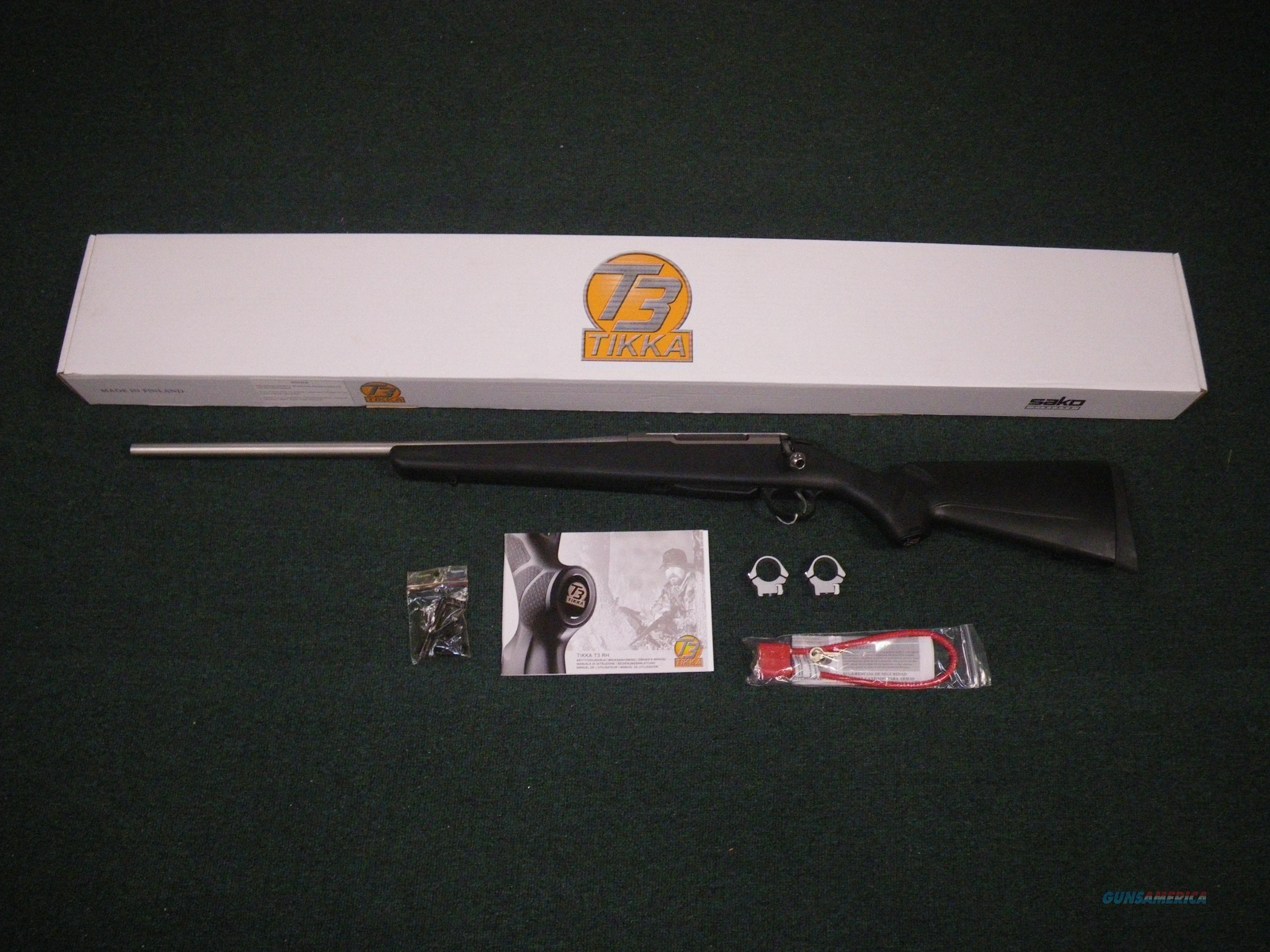 "Tikka T3 Lite Stainless Left Hand 30-06 22.5"" NIB #JRTB420  Guns > Rifles > Tikka Rifles > T3"