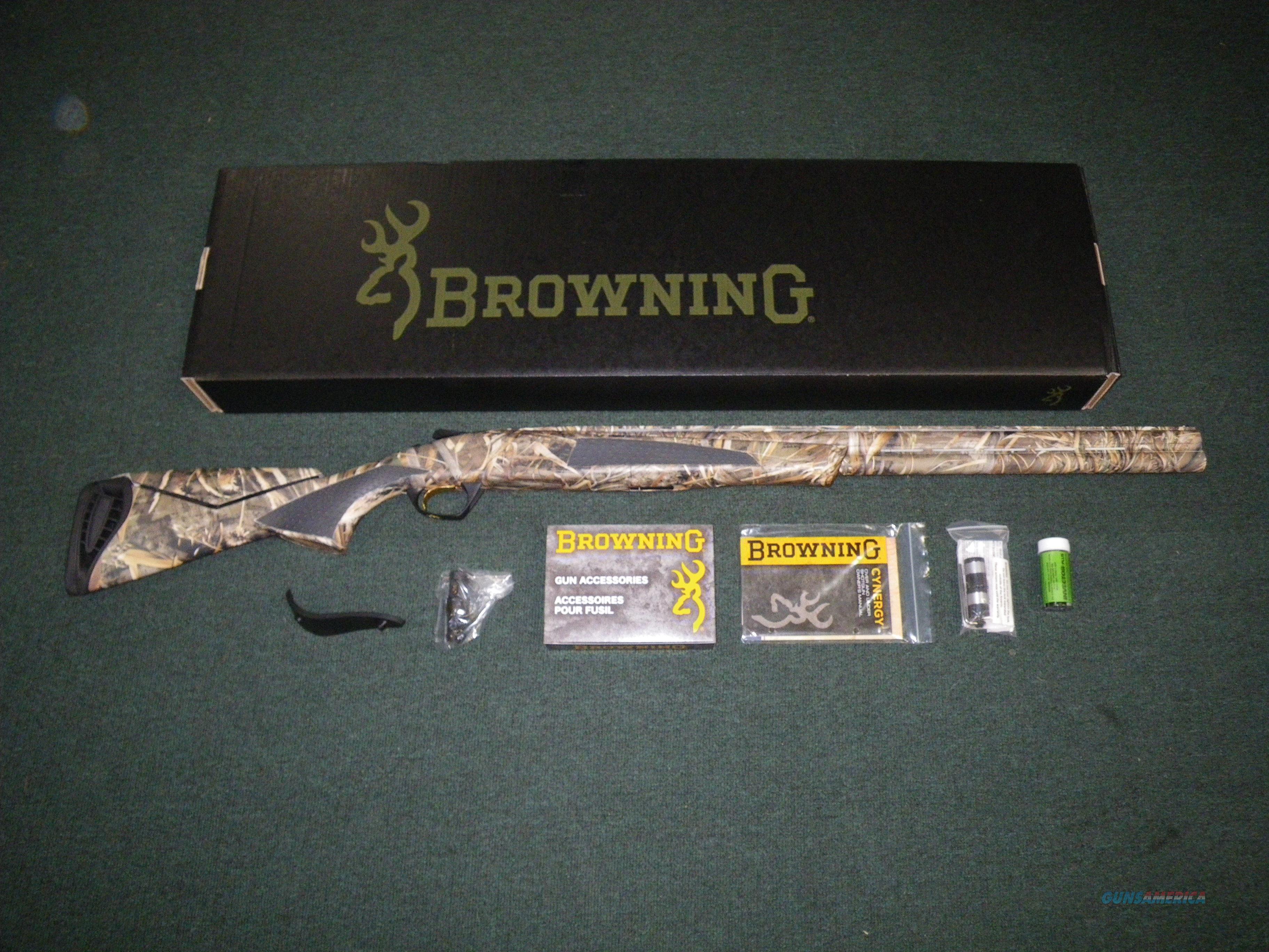 """Browning Cynergy Realtree Max-5 12ga 26"""" NEW 3.5"""" #013713205  Guns > Shotguns > Browning Shotguns > Over Unders > Cynergy > Hunting"""