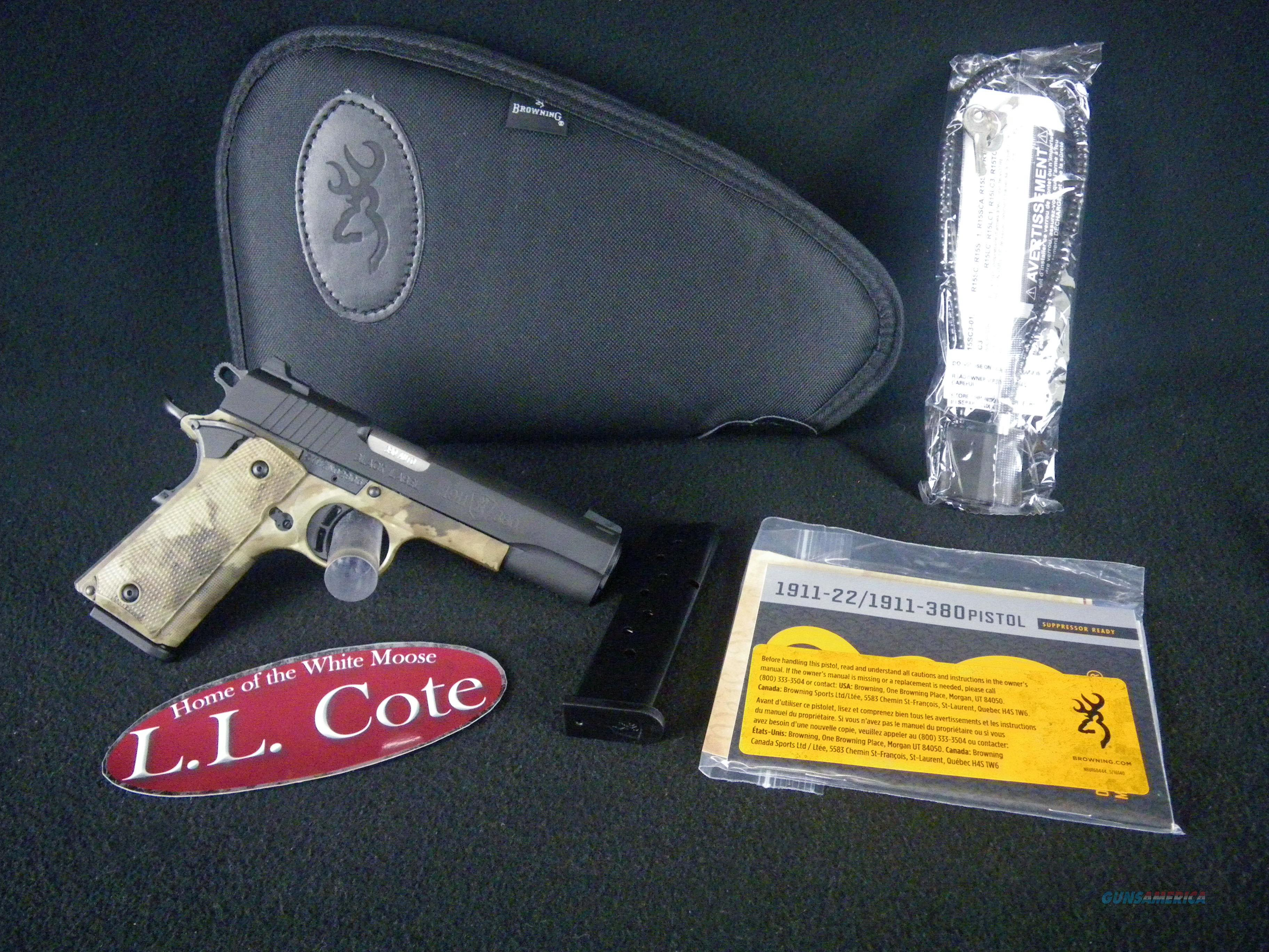 Browning 1911-380 Black Label Pro Speed 380ACP NEW 051948492  Guns > Pistols > Browning Pistols > Other Autos