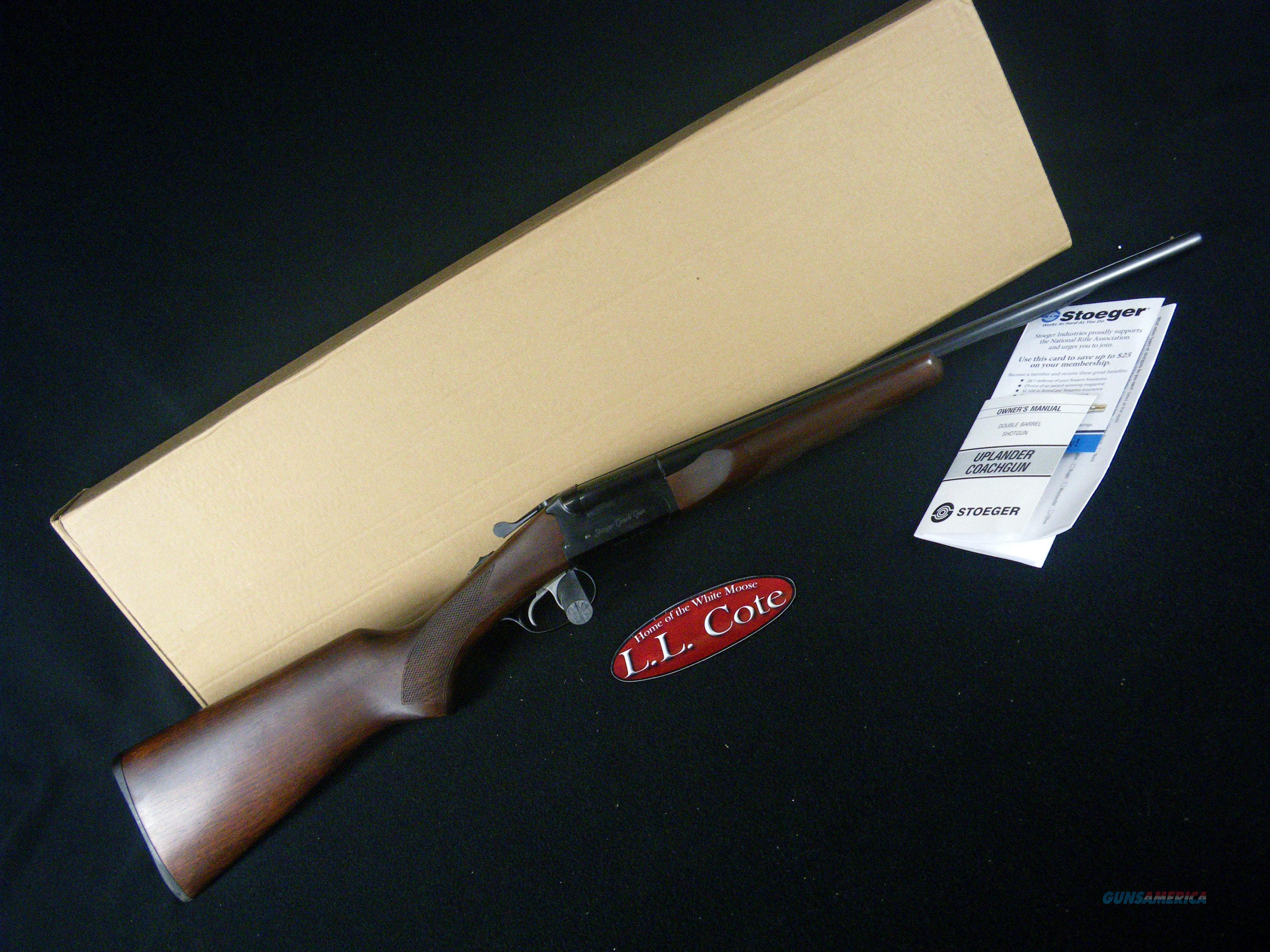 """Stoeger Coach Gun Wood/Blued 410ga 20"""" NEW 31410  Guns > Shotguns > Stoeger Shotguns"""
