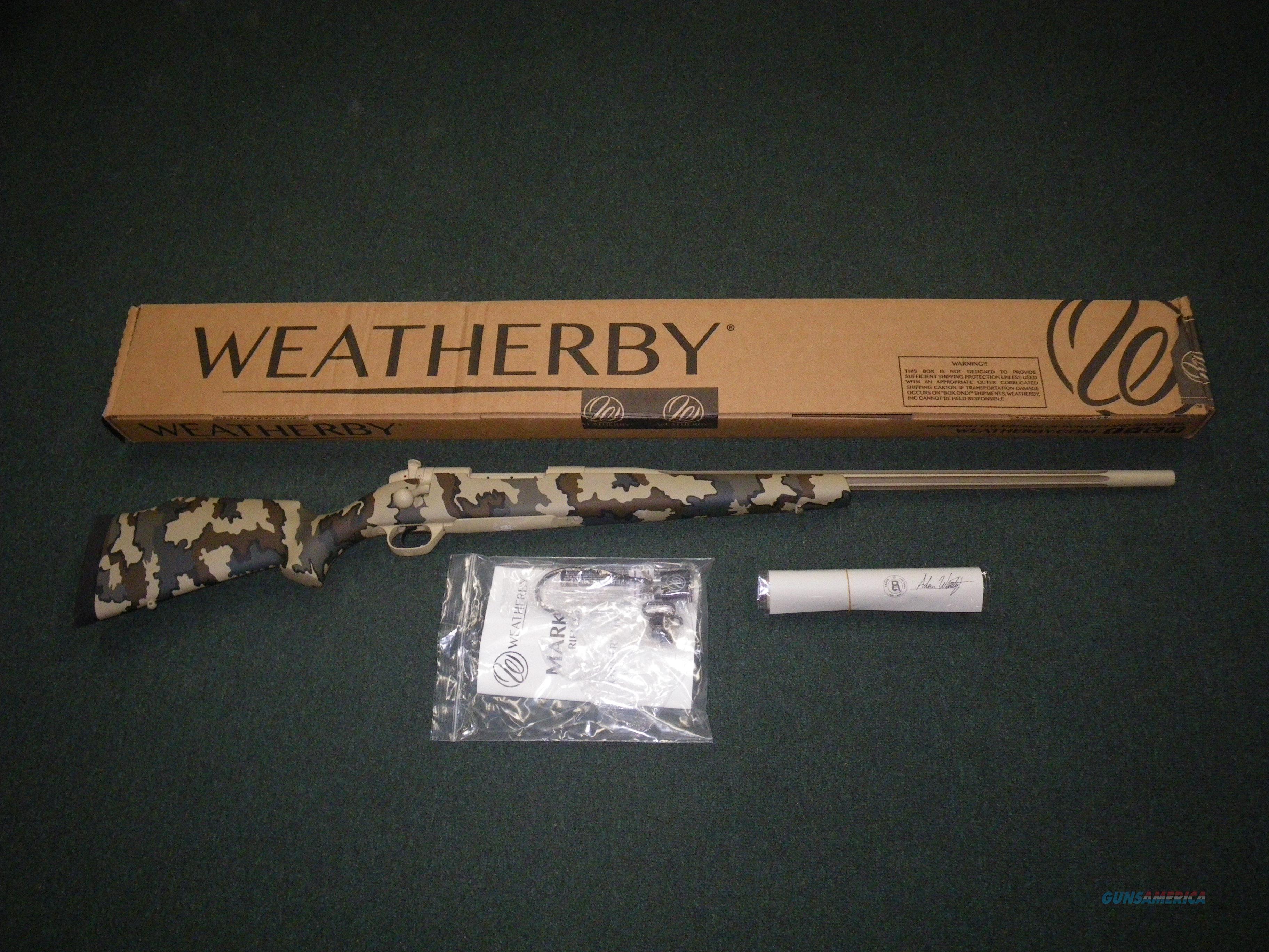 "Weatherby Mark V Arroyo RC 6.5-300 Wby Mag 26"" NEW #MAYM653WR6O  Guns > Rifles > Weatherby Rifles > Sporting"
