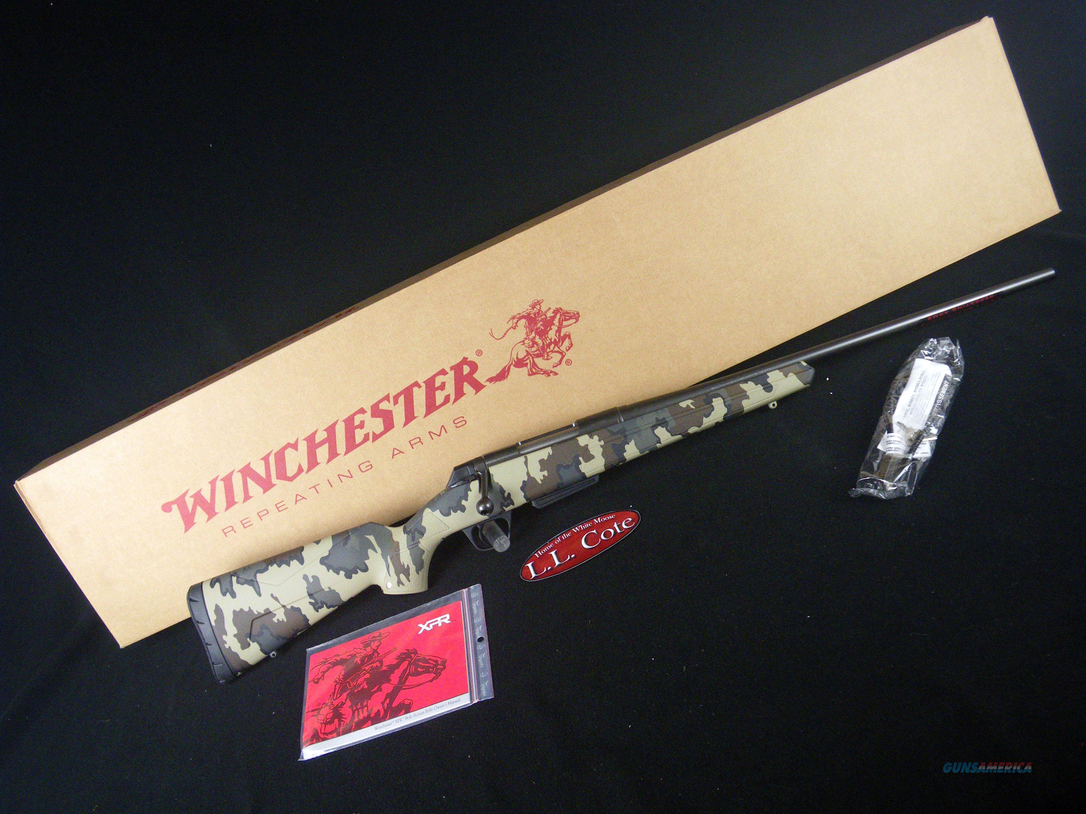"Winchester XPR Hunter Kuiu Vias 243 Win 22"" NEW 535713212  Guns > Rifles > Winchester Rifles - Modern Bolt/Auto/Single > Other Bolt Action"