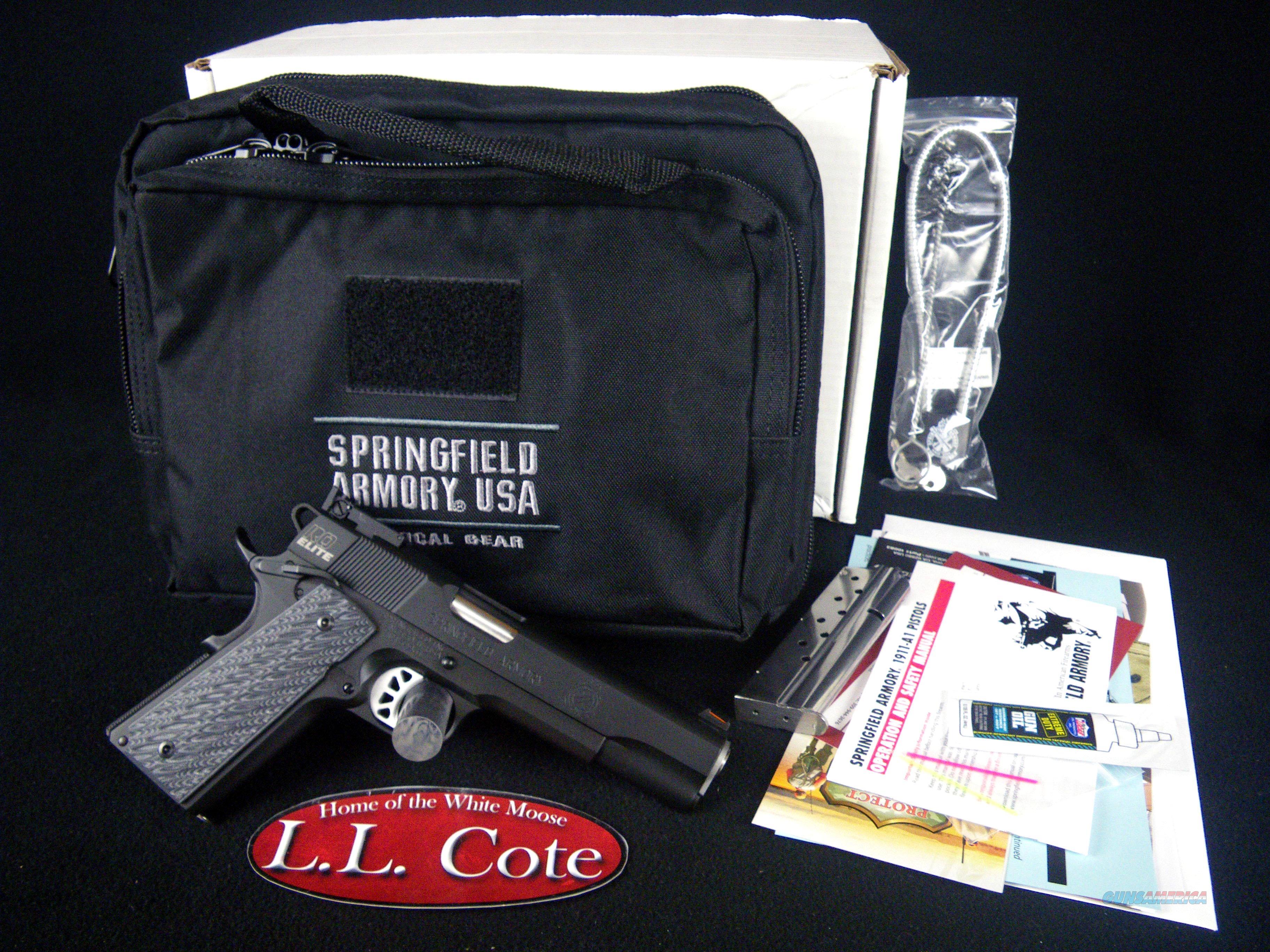 "Springfield 1911 RO Elite Target Black 9mm 5"" NEW PI9129E  Guns > Pistols > Springfield Armory Pistols > 1911 Type"